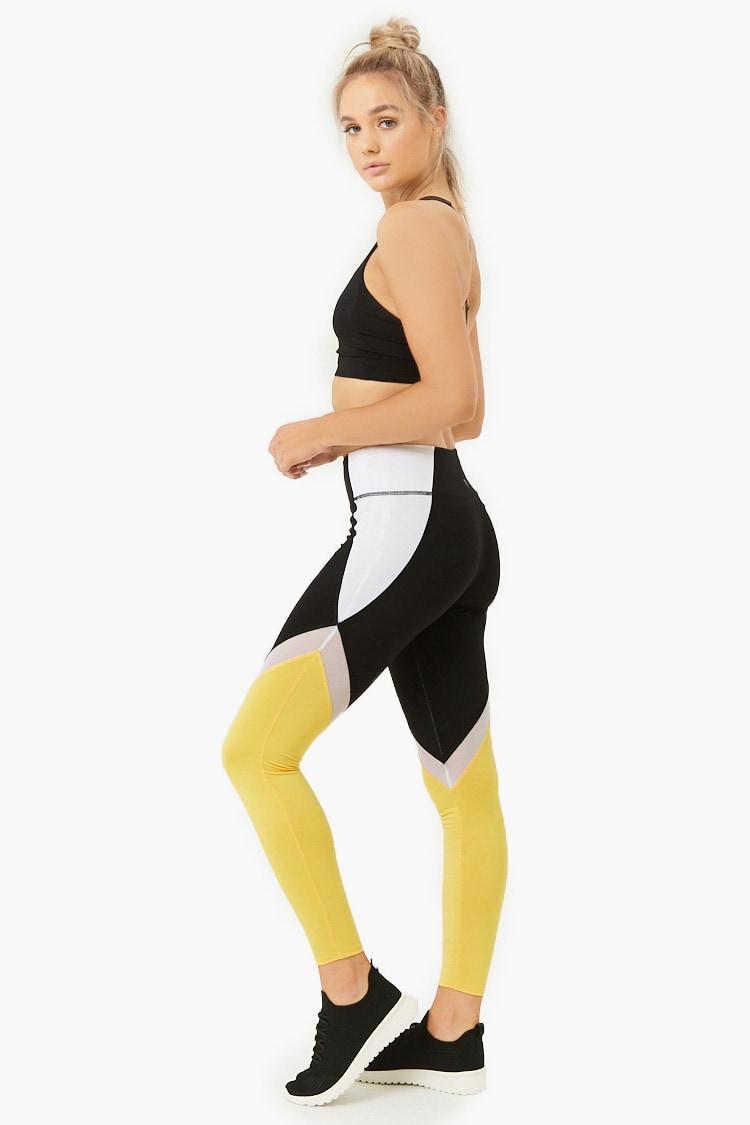 F21 Active Colorblock Leggings