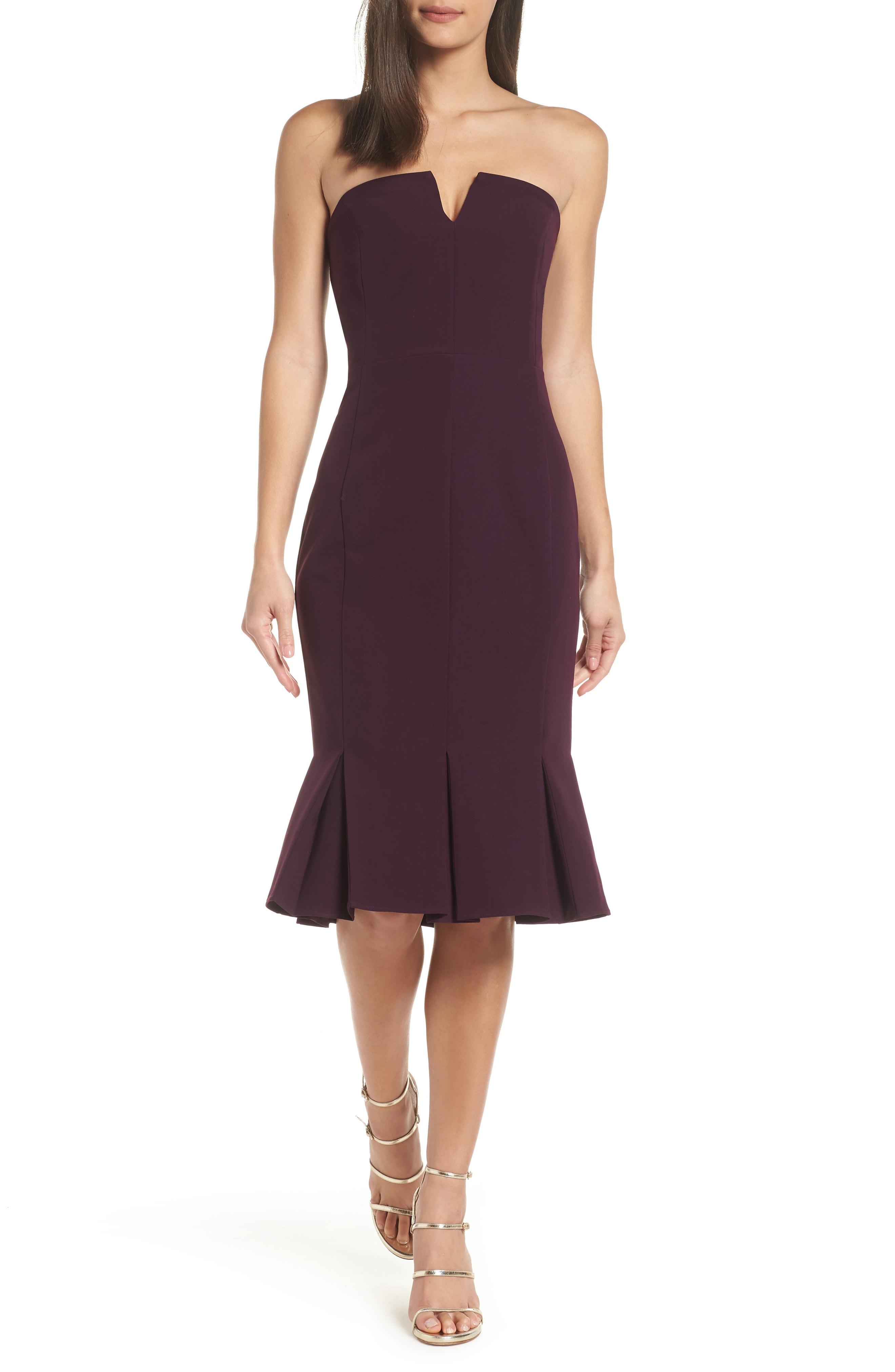 Adelyn Rae Alexis Strapless Dress