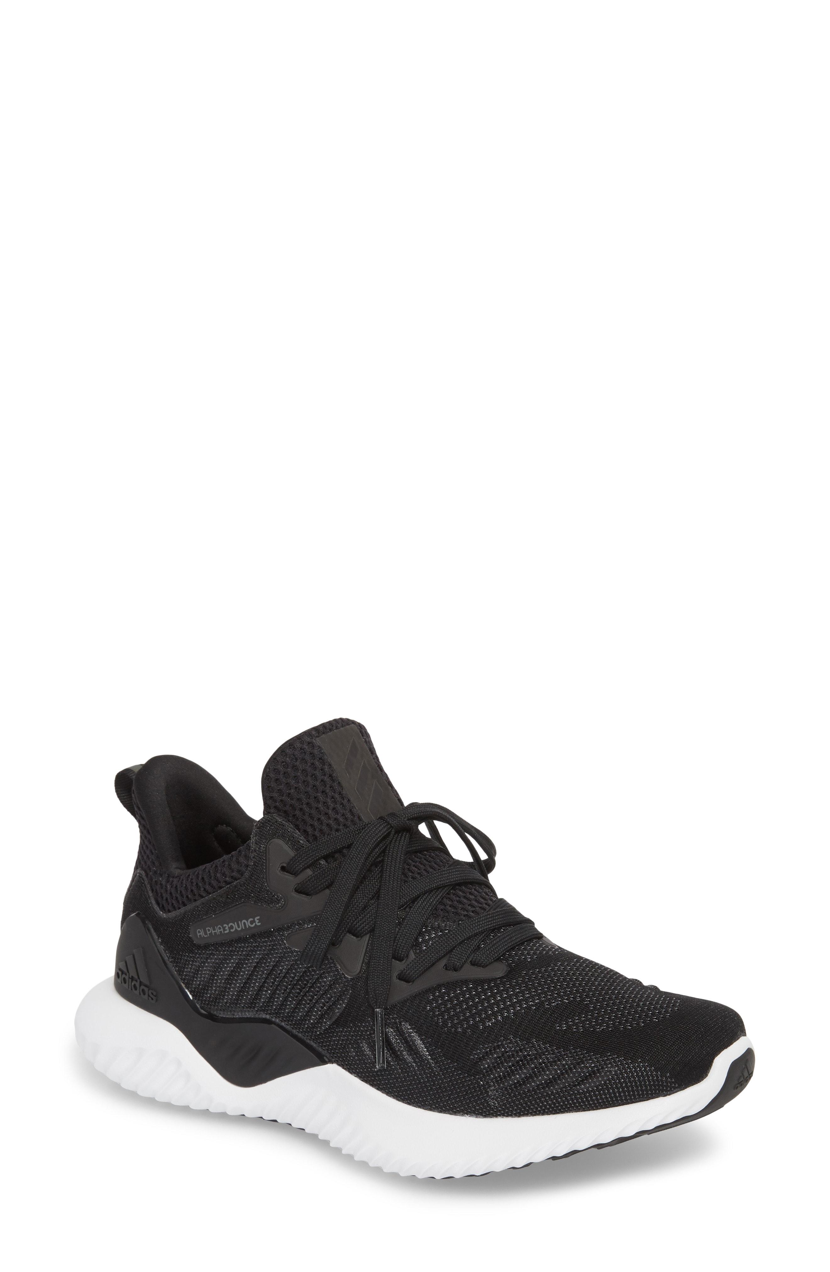 adidas AlphaBounce Beyond Knit Running Shoe (Women)