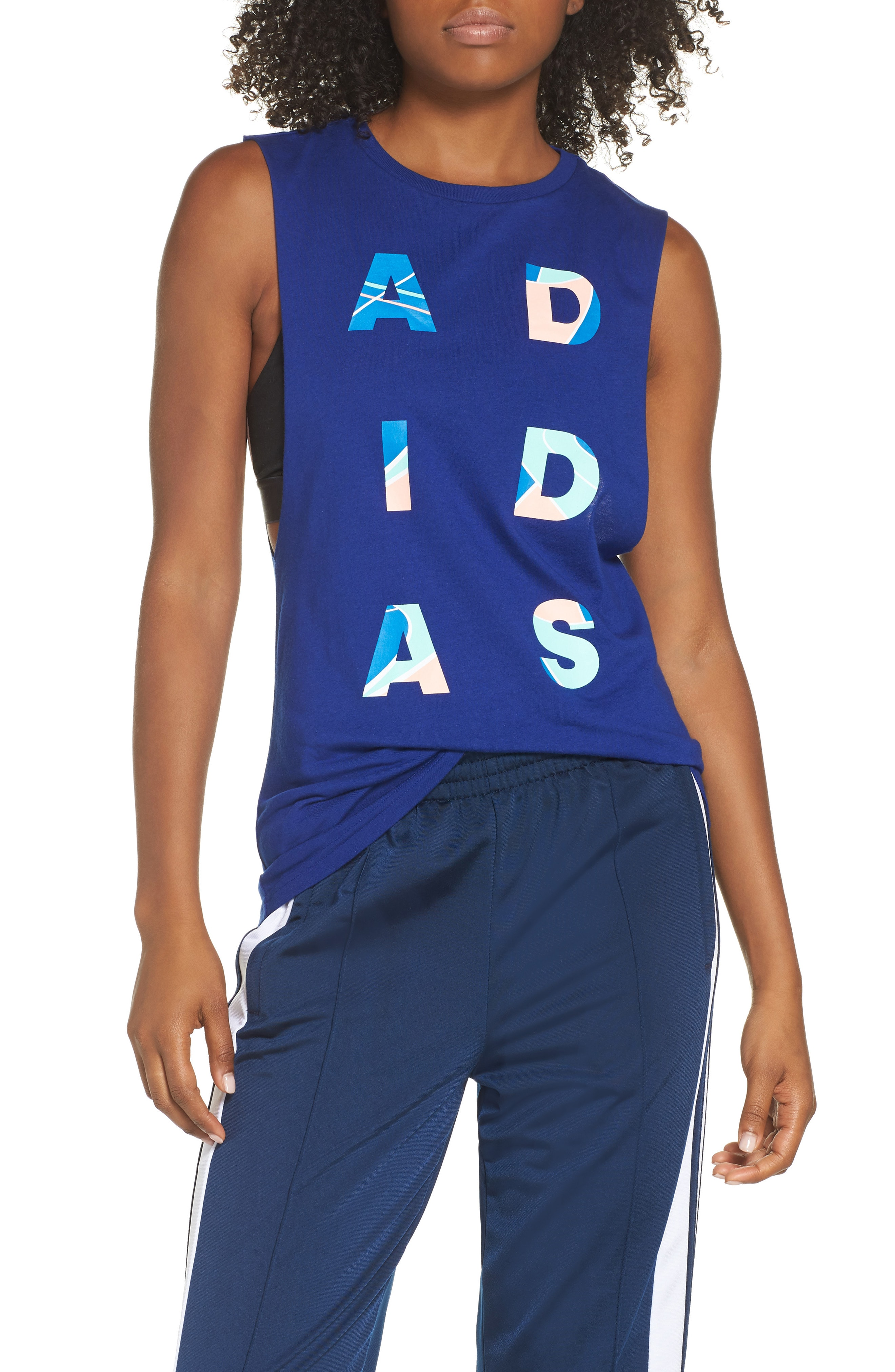 adidas Crop Courts Muscle Tank