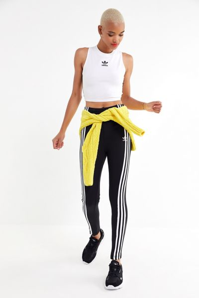 adidas High-Rise Split-Ankle Track Pant
