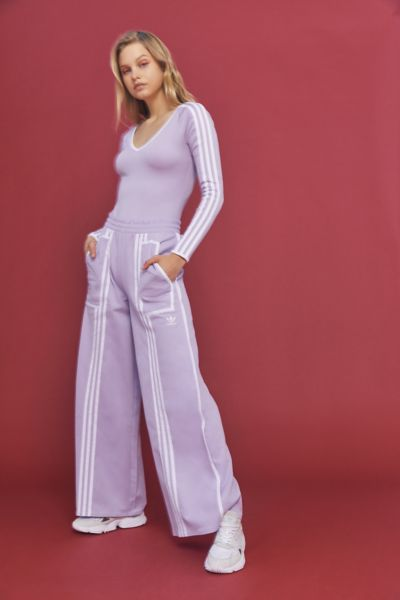 adidas Originals By Ji Won Choi 3-Stripe Wide Leg Track Pant