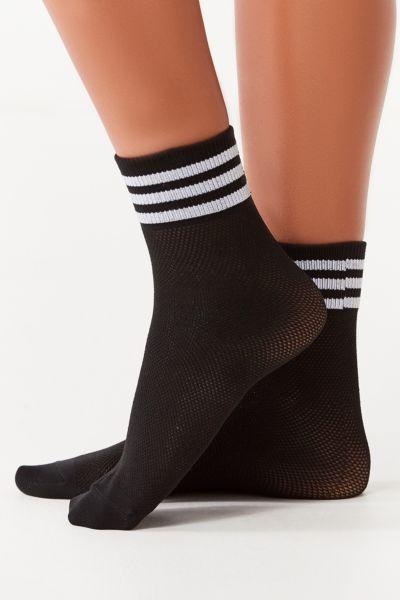 adidas Originals Mesh Striped Multicolor Quarter Sock
