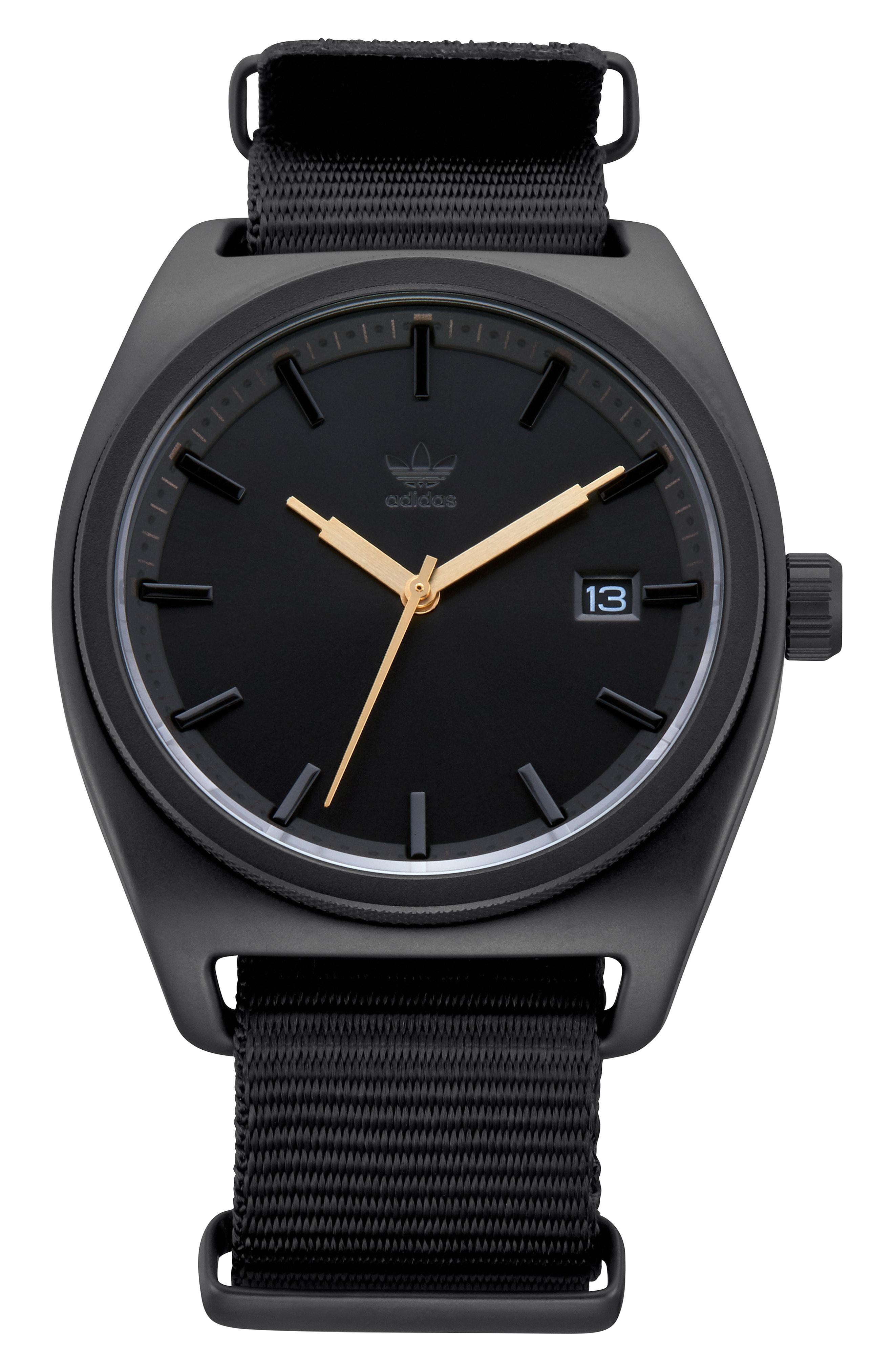adidas Process Interchangeable Strap Watch, 40mm