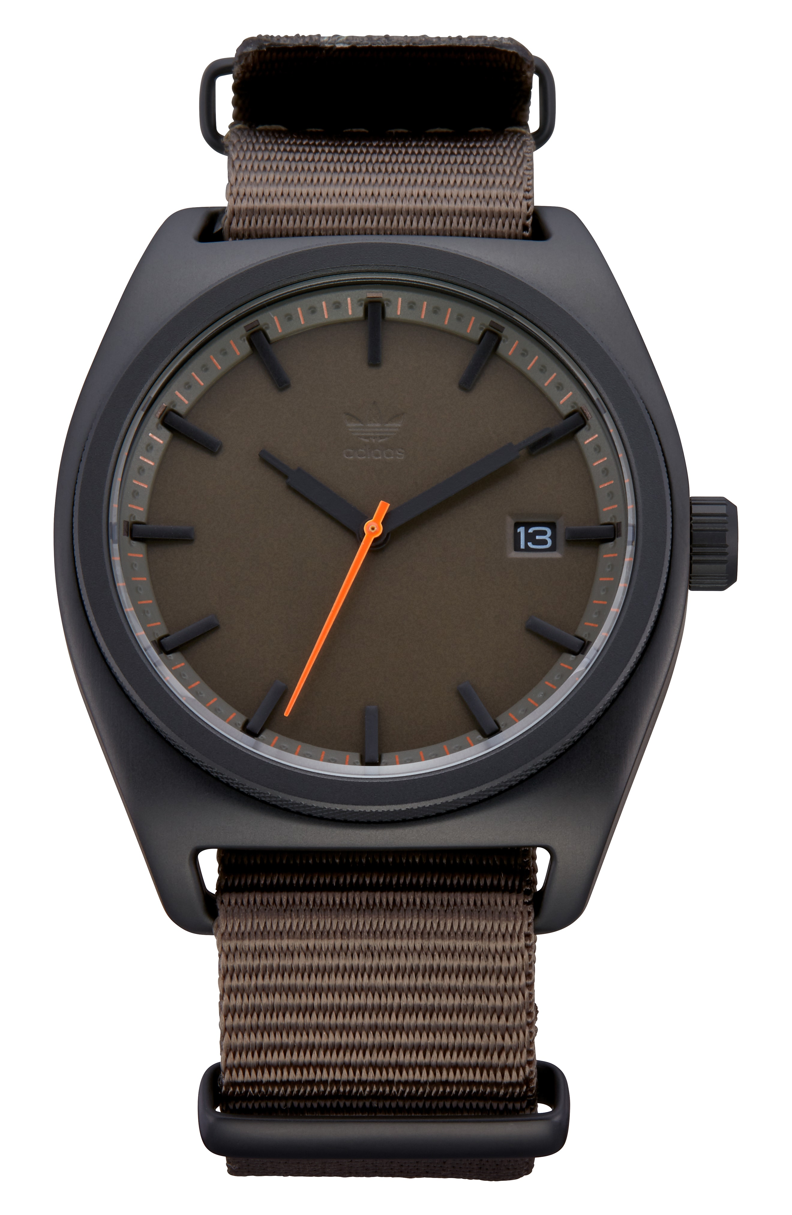 adidas Process Nylon Strap Watch, 40mm