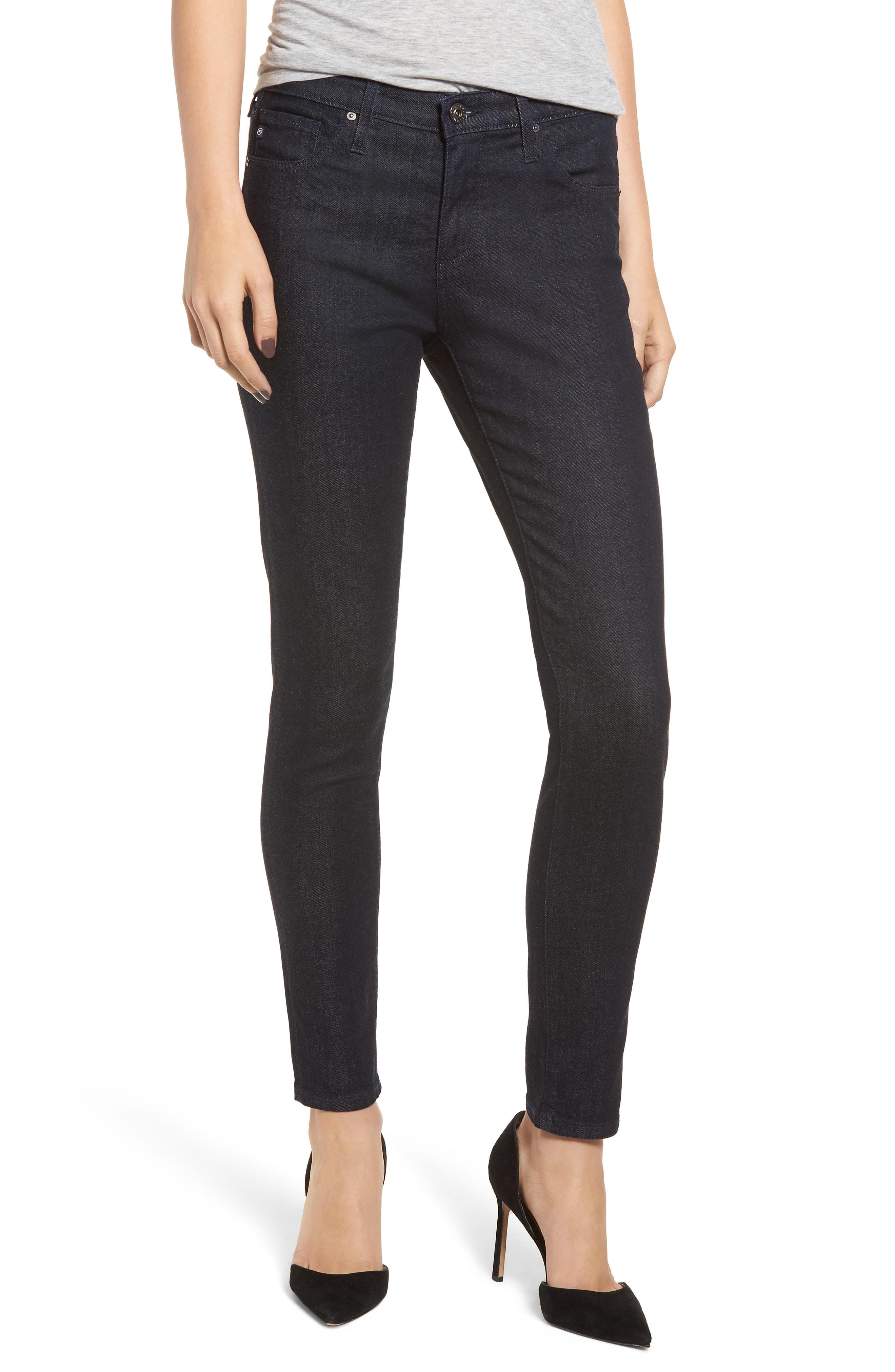 AG The Legging Ankle Super Skinny Jeans (Indigo Winter)
