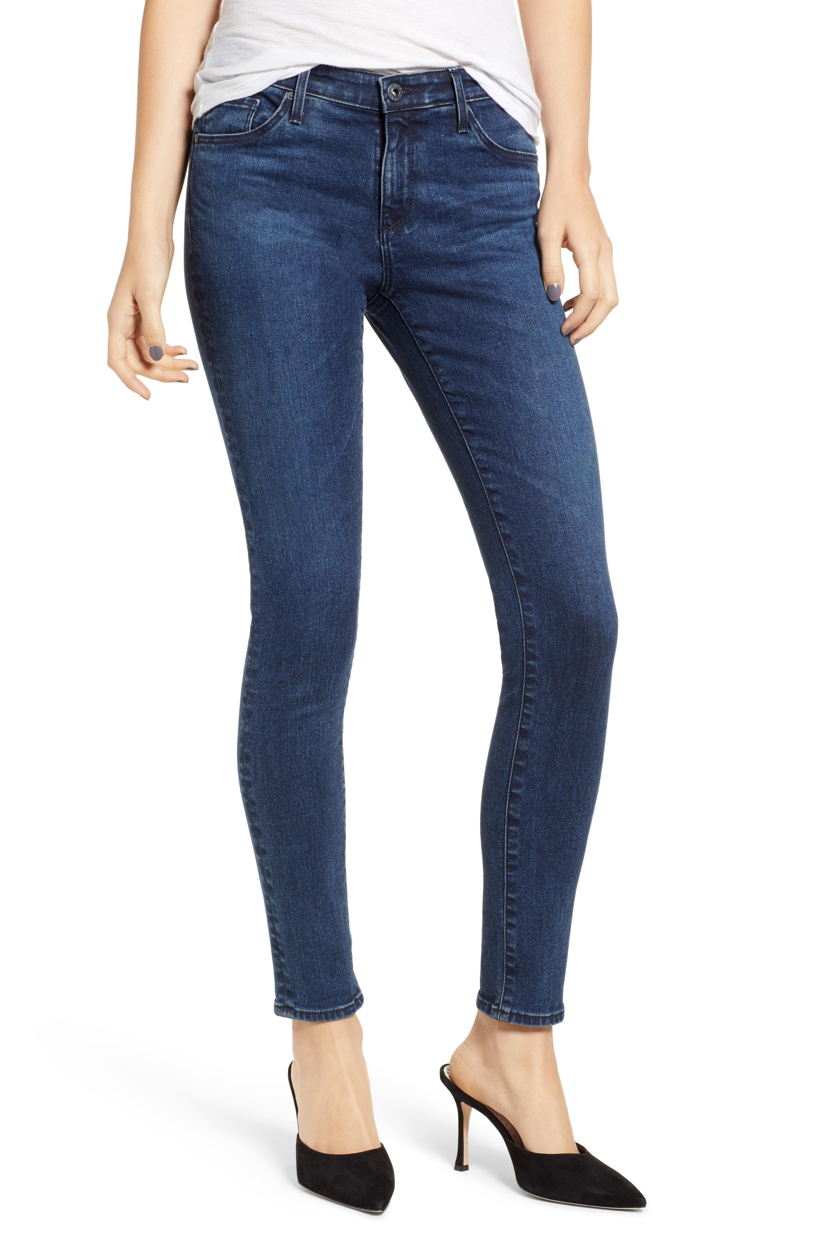 AG The Legging Ankle Super Skinny Jeans (Striking)