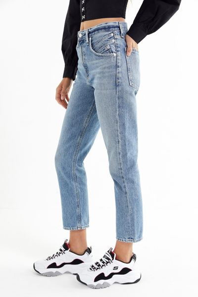 AGOLDE Palmer High-Rise Cropped Jean – Temptation