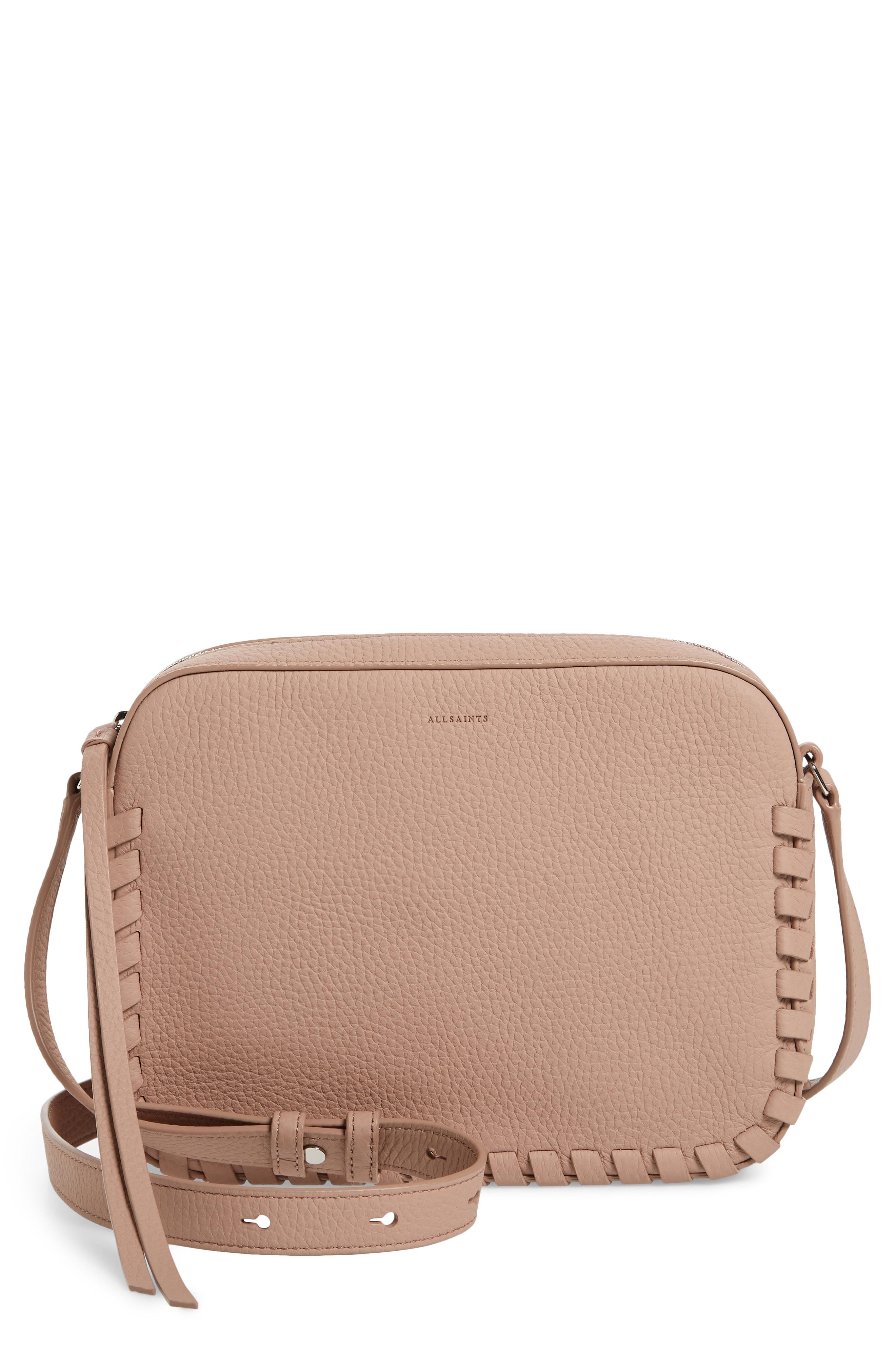ALLSAINTS Kepi Mini Leather Crossbody Bag
