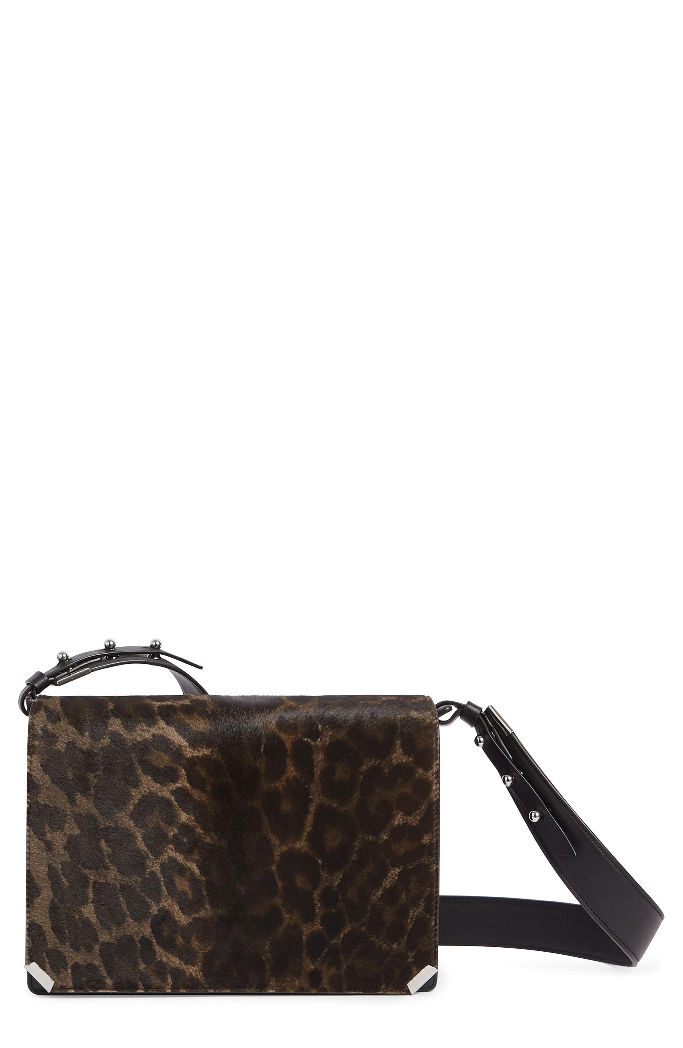 ALLSAINTS Vincent Genuine Calf Hair Shoulder Bag
