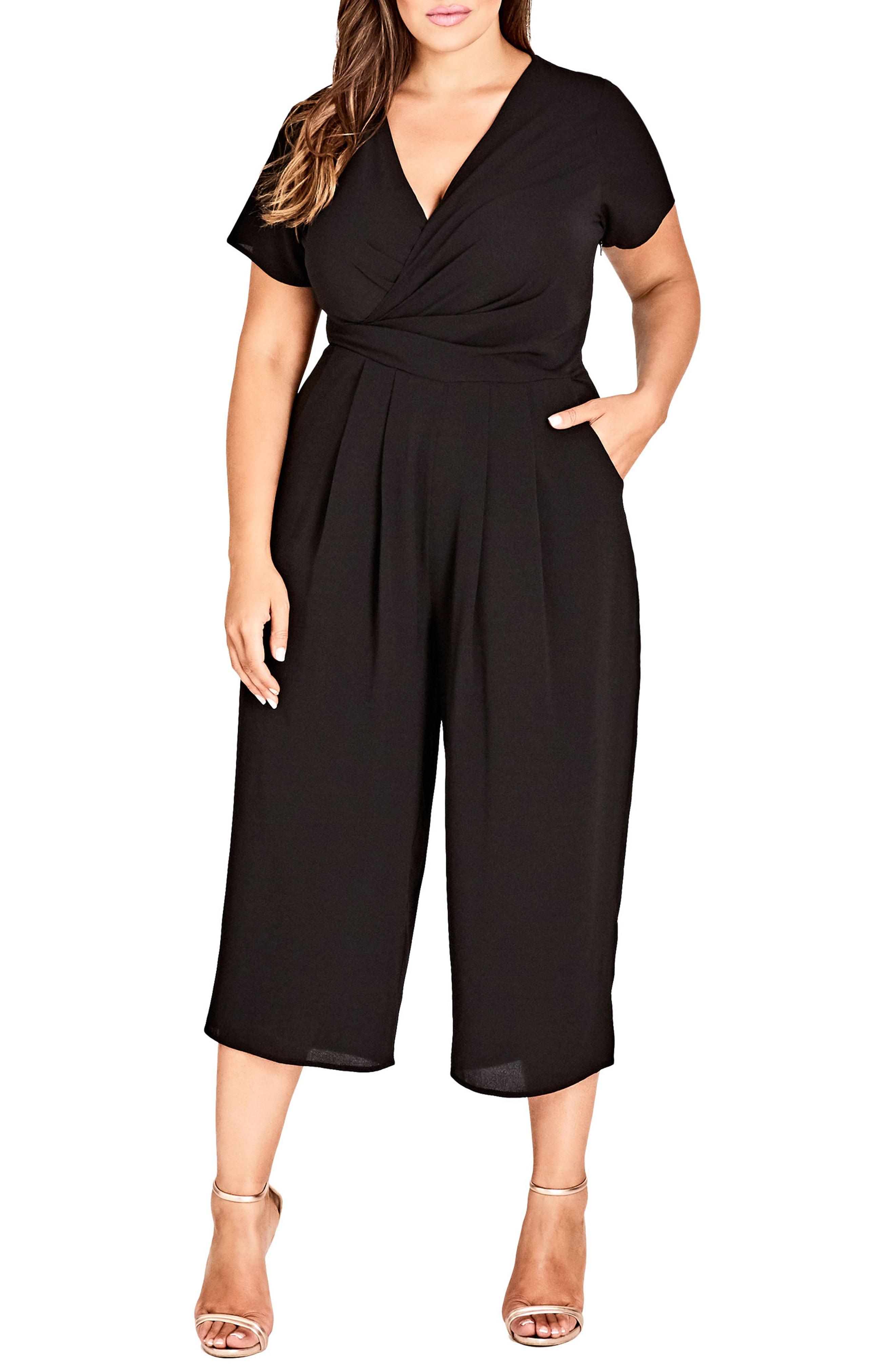 City Chic Asplice Jumpsuit (Plus Size)