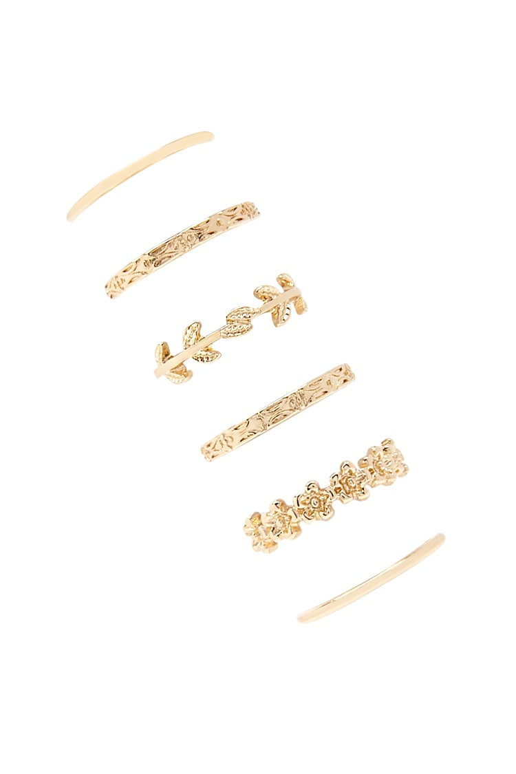 F21 Assorted Ring Set