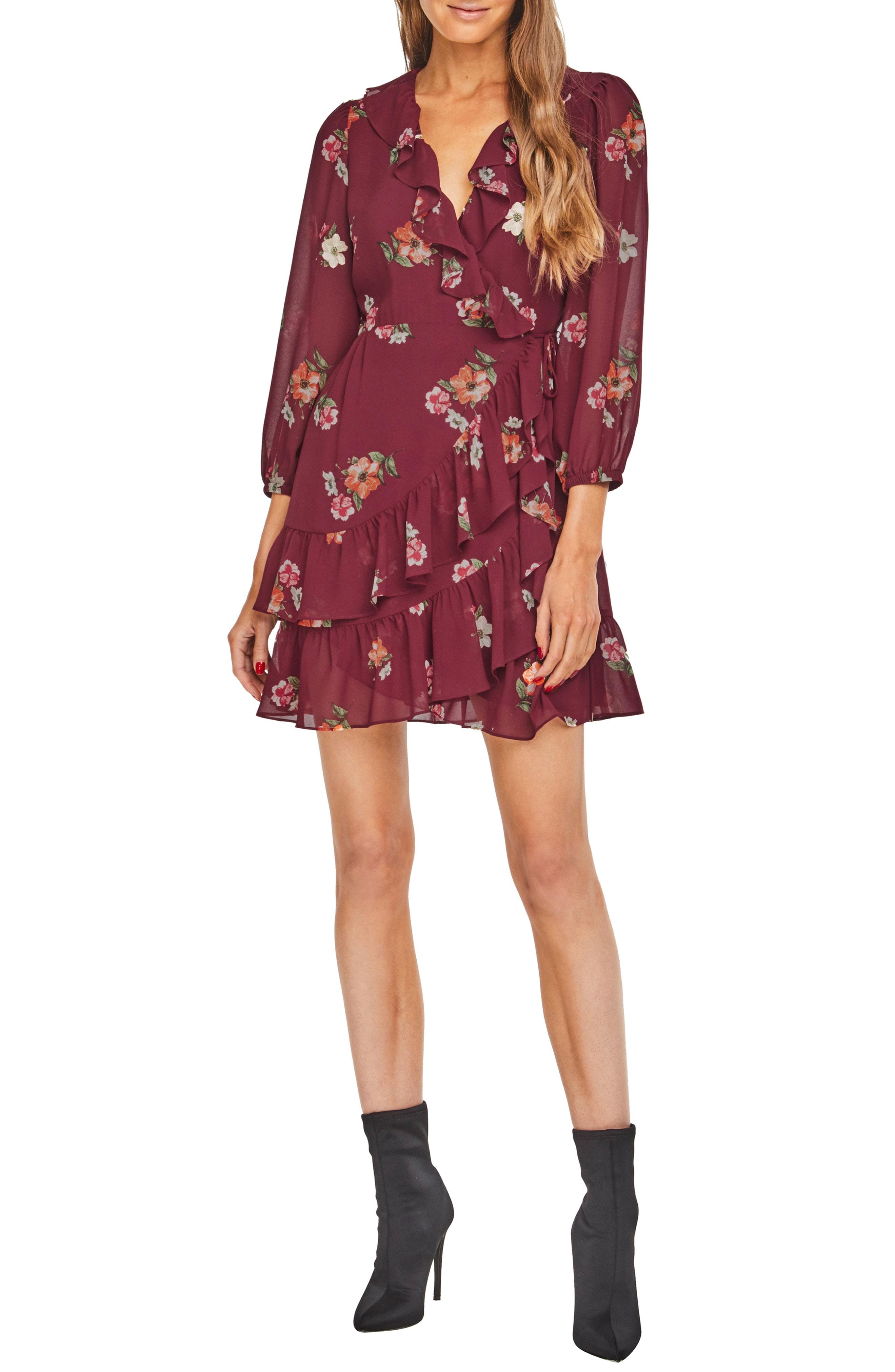 ASTR the Label Cheyanne Ruffle Dress