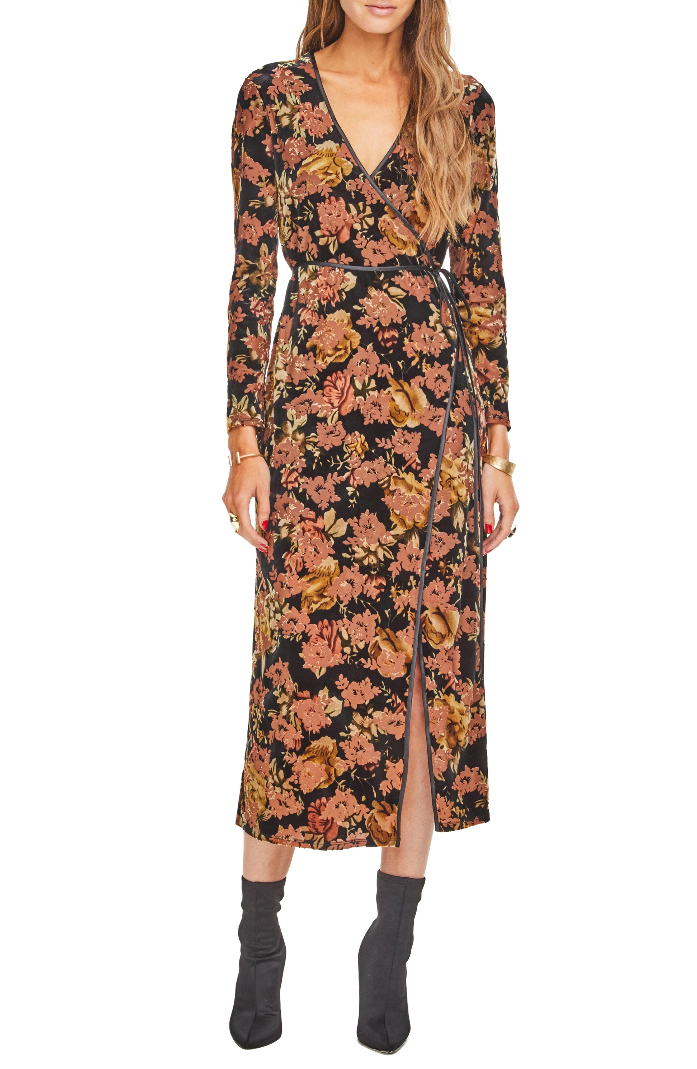 ASTR the Label Milena Midi Dress