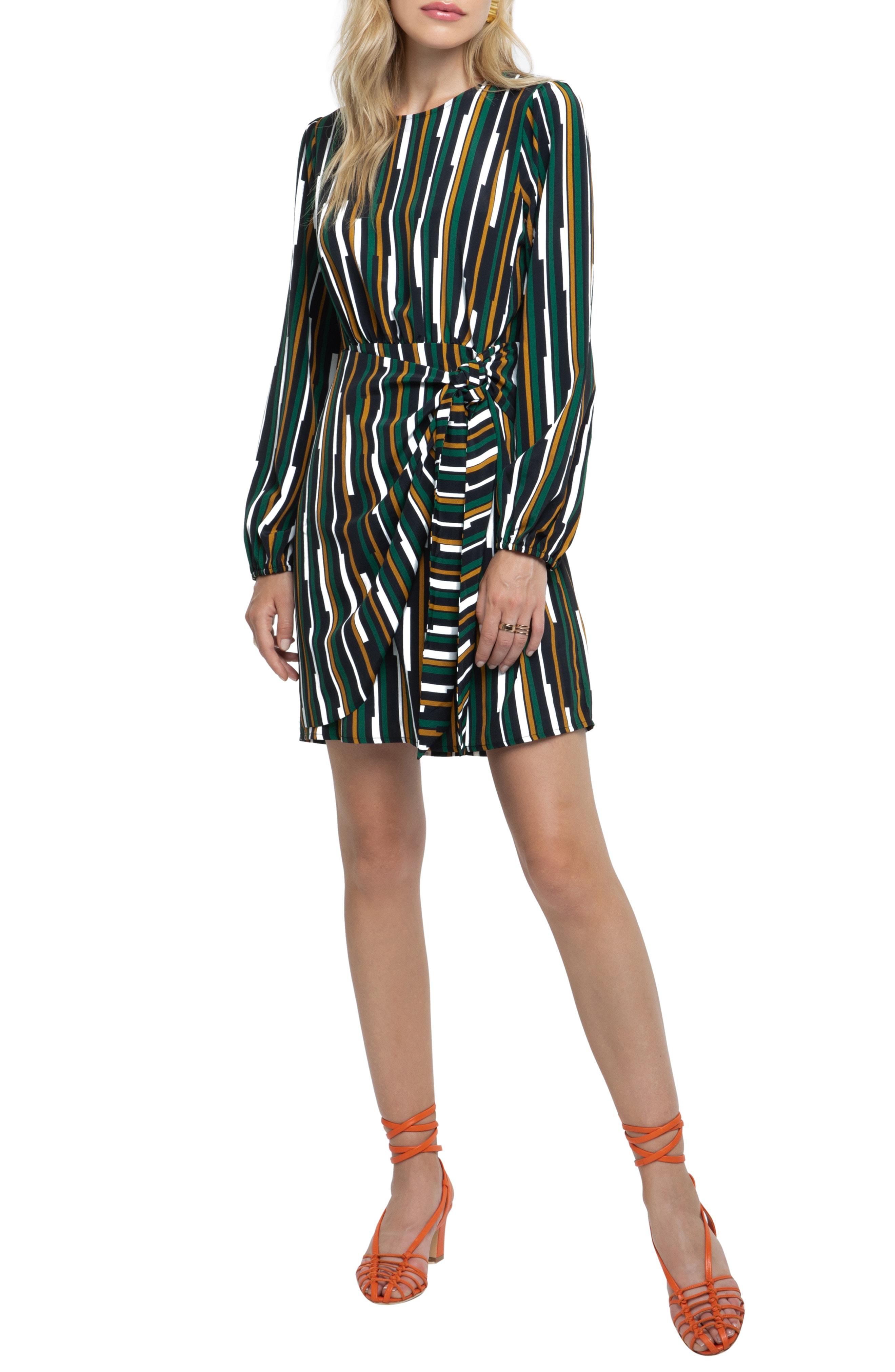 ASTR the Label Wrap Skirt Dress