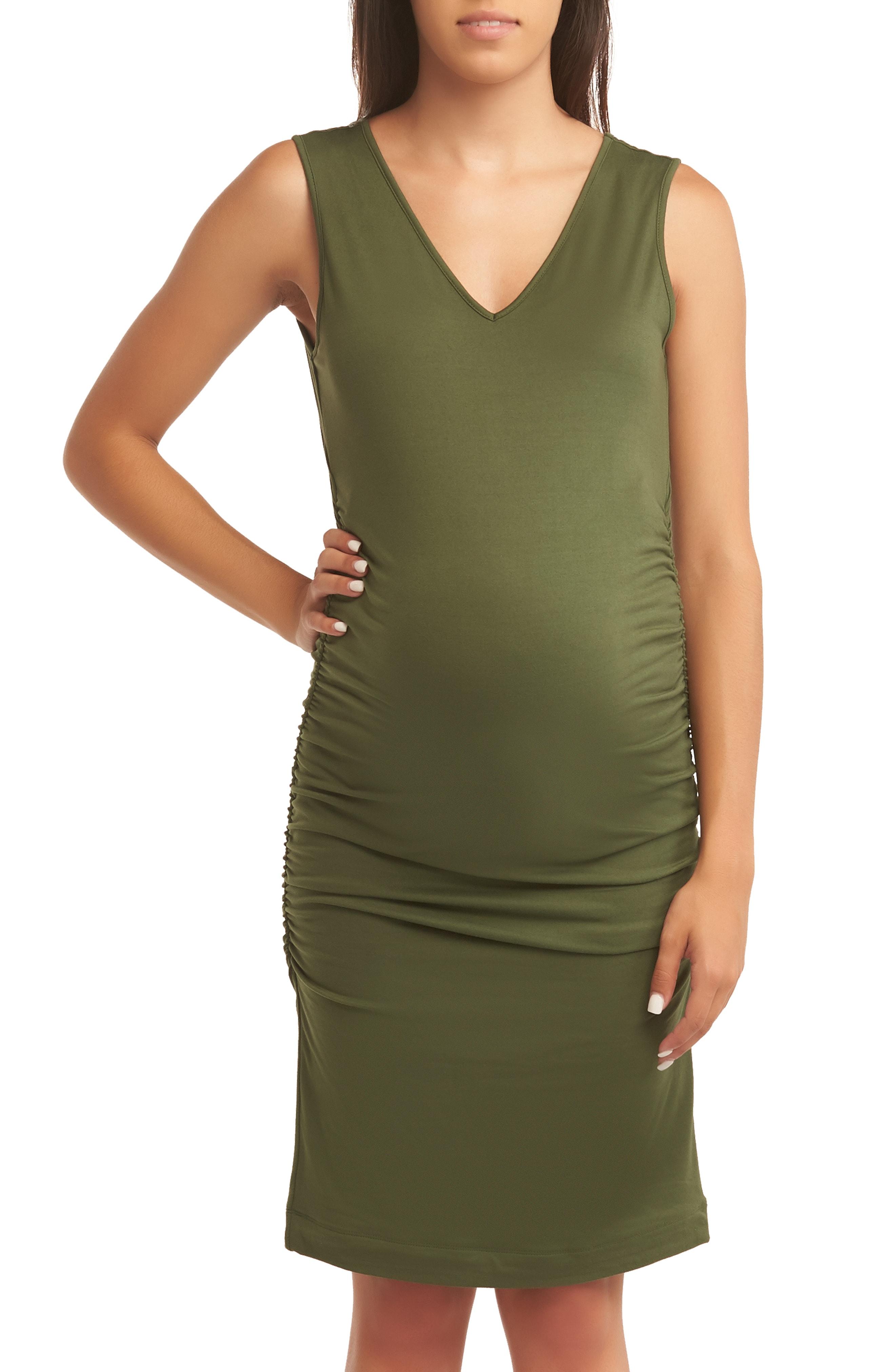 Baby Moon Maternity Tank Dress