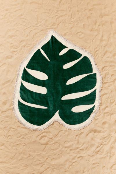 ban.do Monstera Leaf Oversized Beach Towel