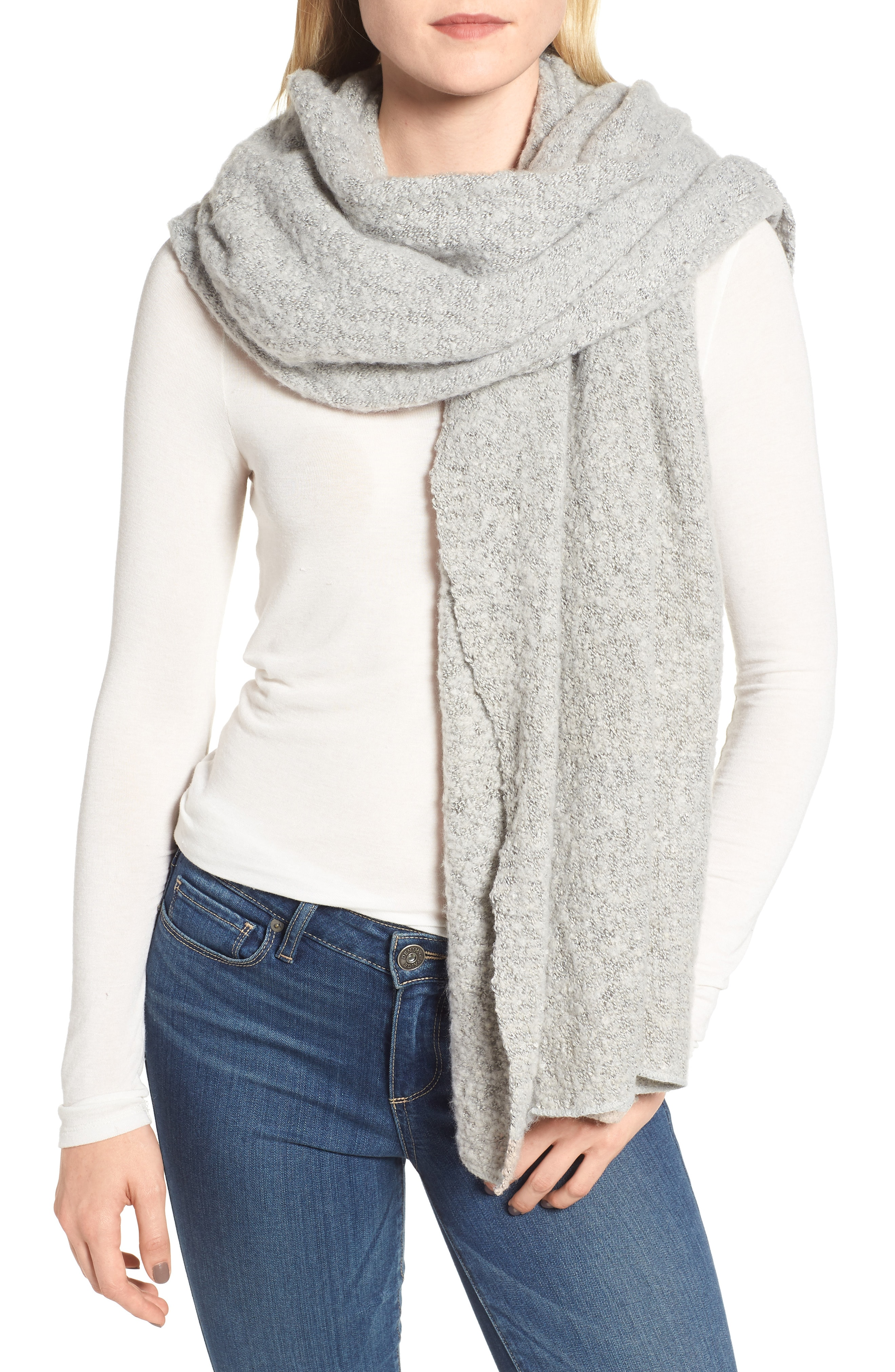 Barbour Boucl Scarf