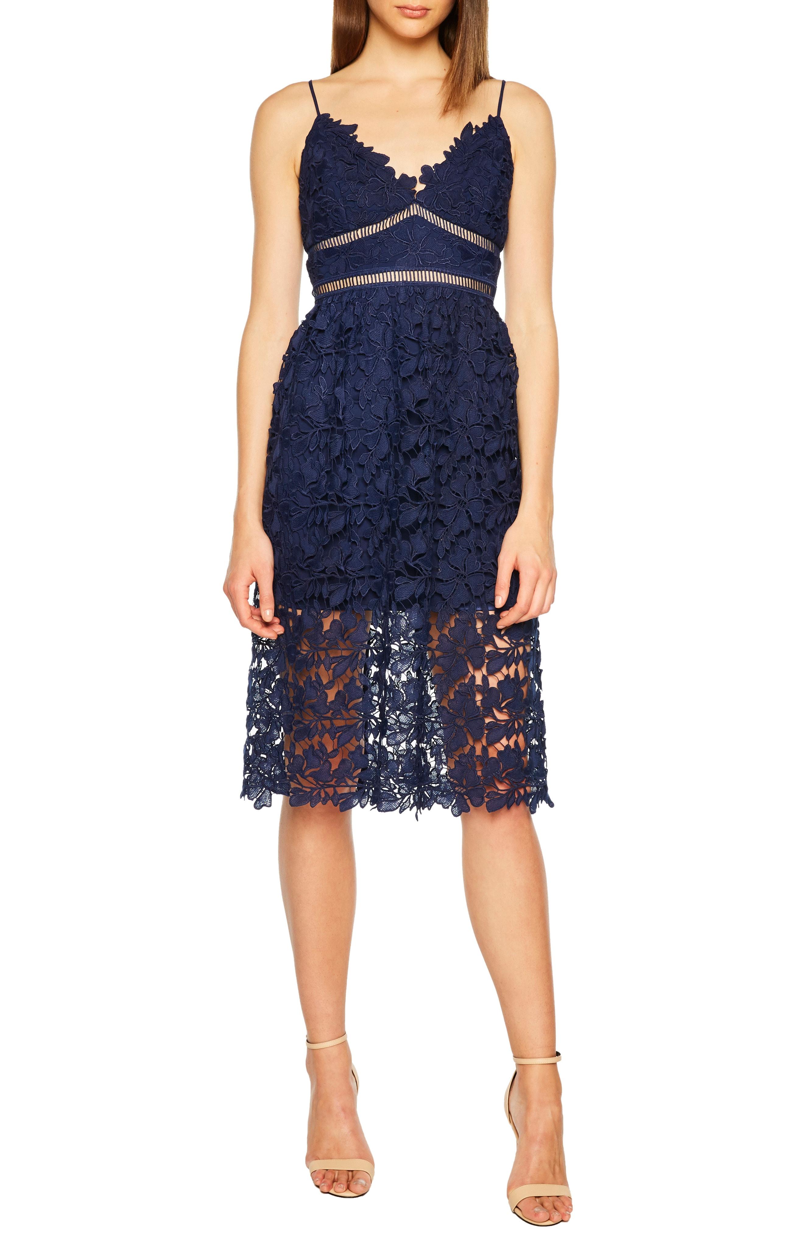 Bardot Sonya Lace Cocktail Dress