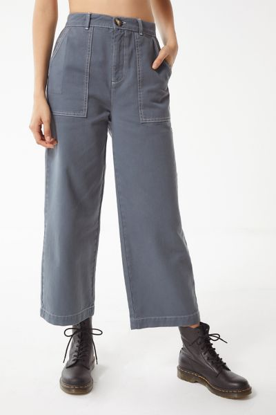 BDG Contrast Stitch Carpenter Jean – Grey