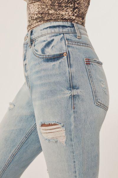BDG High-Rise Slim Straight Jean - Light Denim