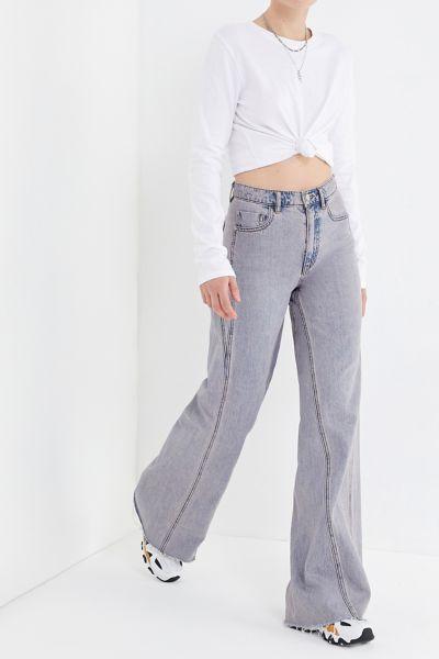 BDG Willa High-Rise Wide Leg Jean – Washed Lavender