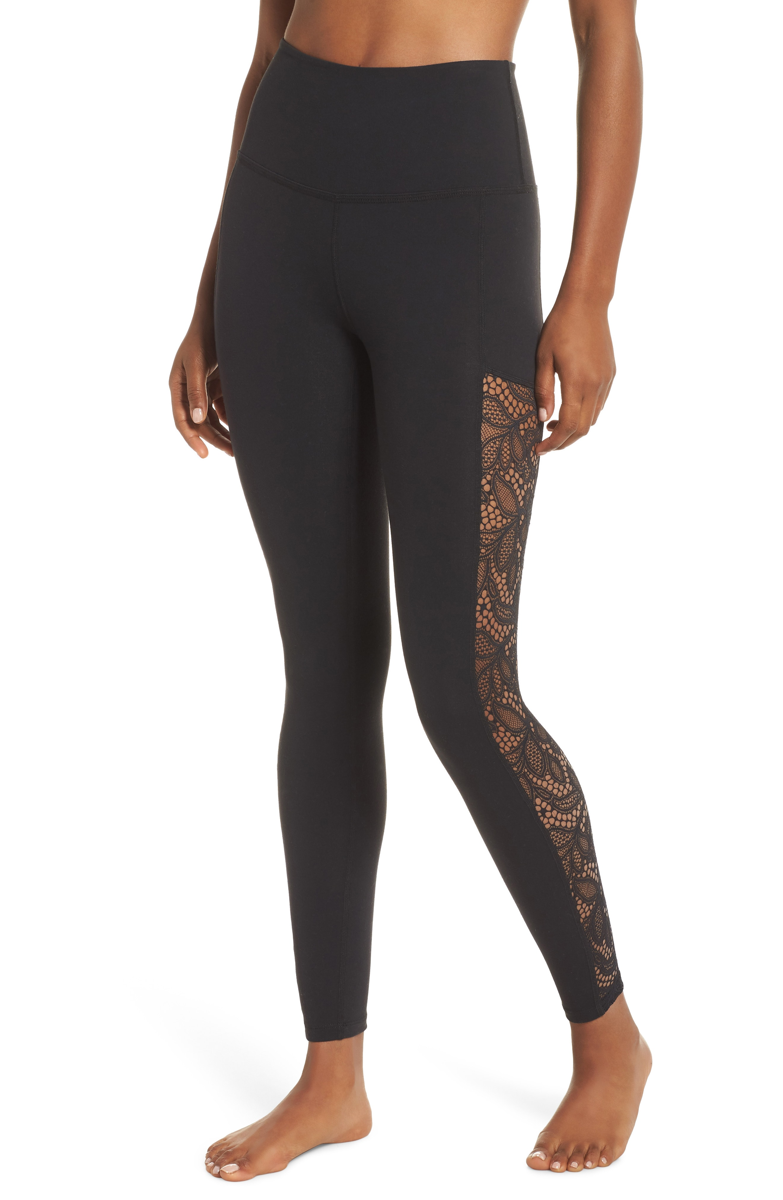 Beyond Yoga Lace Way High Rise Ankle Leggings
