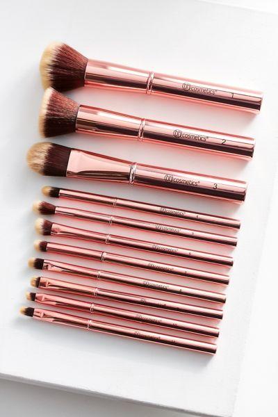 bh cosmetics Metal Rose 11-Piece Brush Set