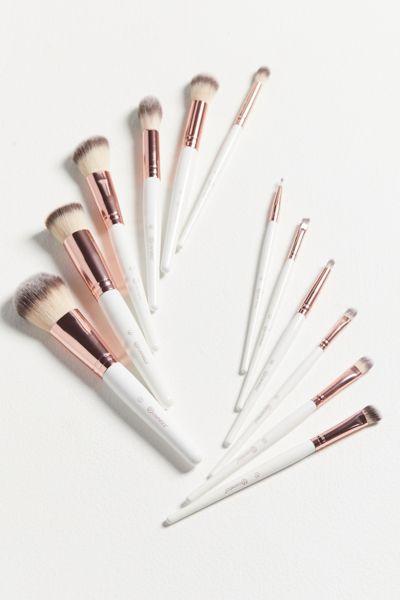 bh Cosmetics Rosé Romance 12-Piece Brush Set