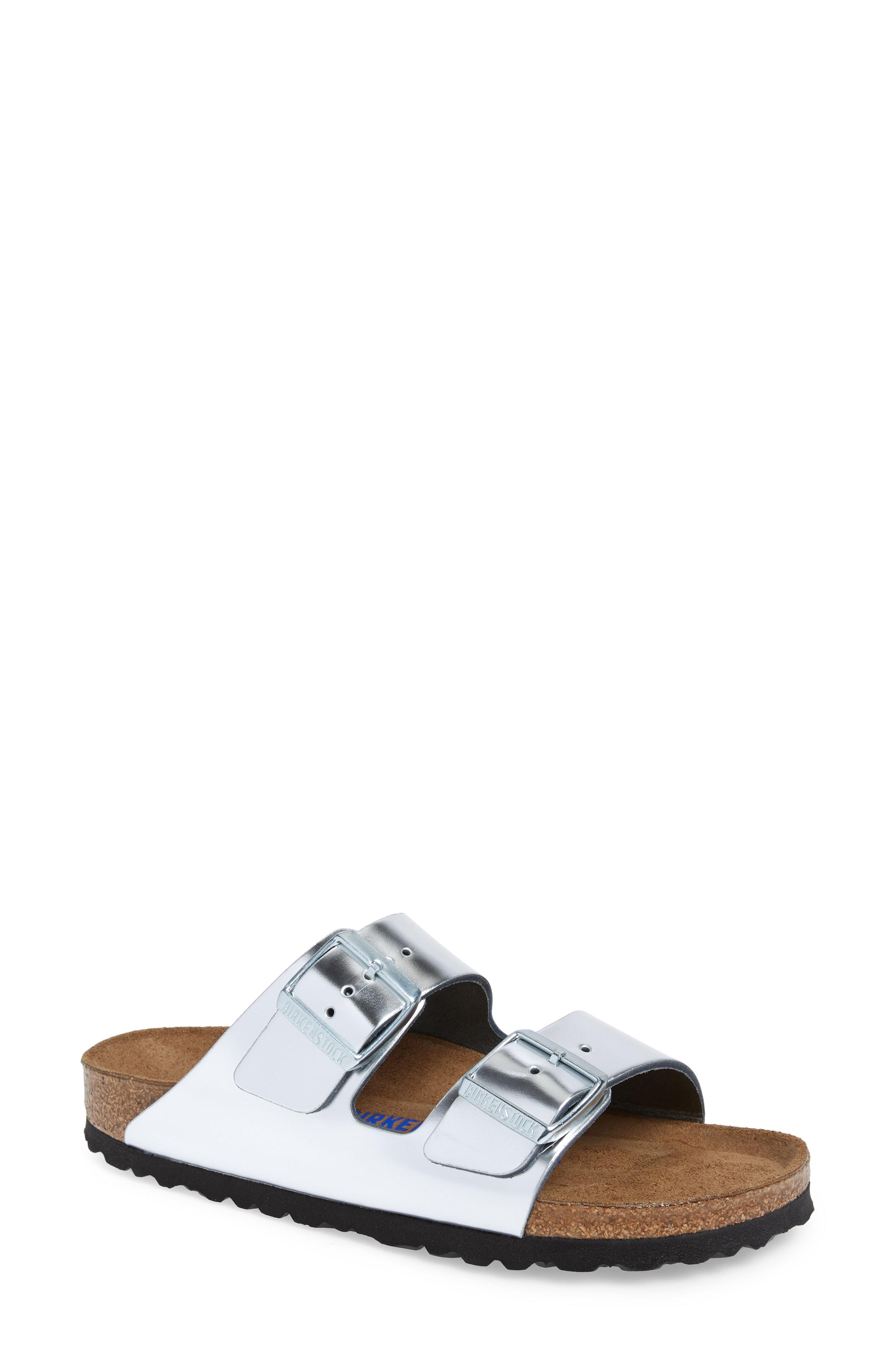 Birkenstock Arizona Soft Footbed Slide Sandal (Women)