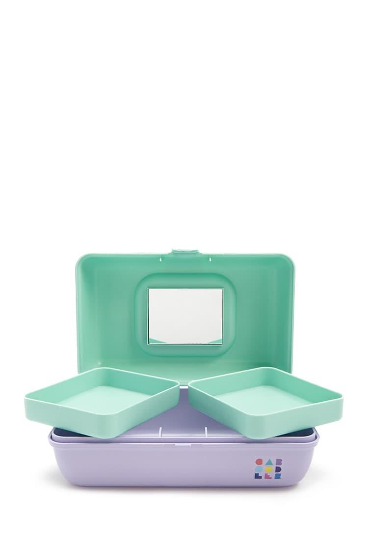 F21 Caboodles Colorblock Jewelry Box
