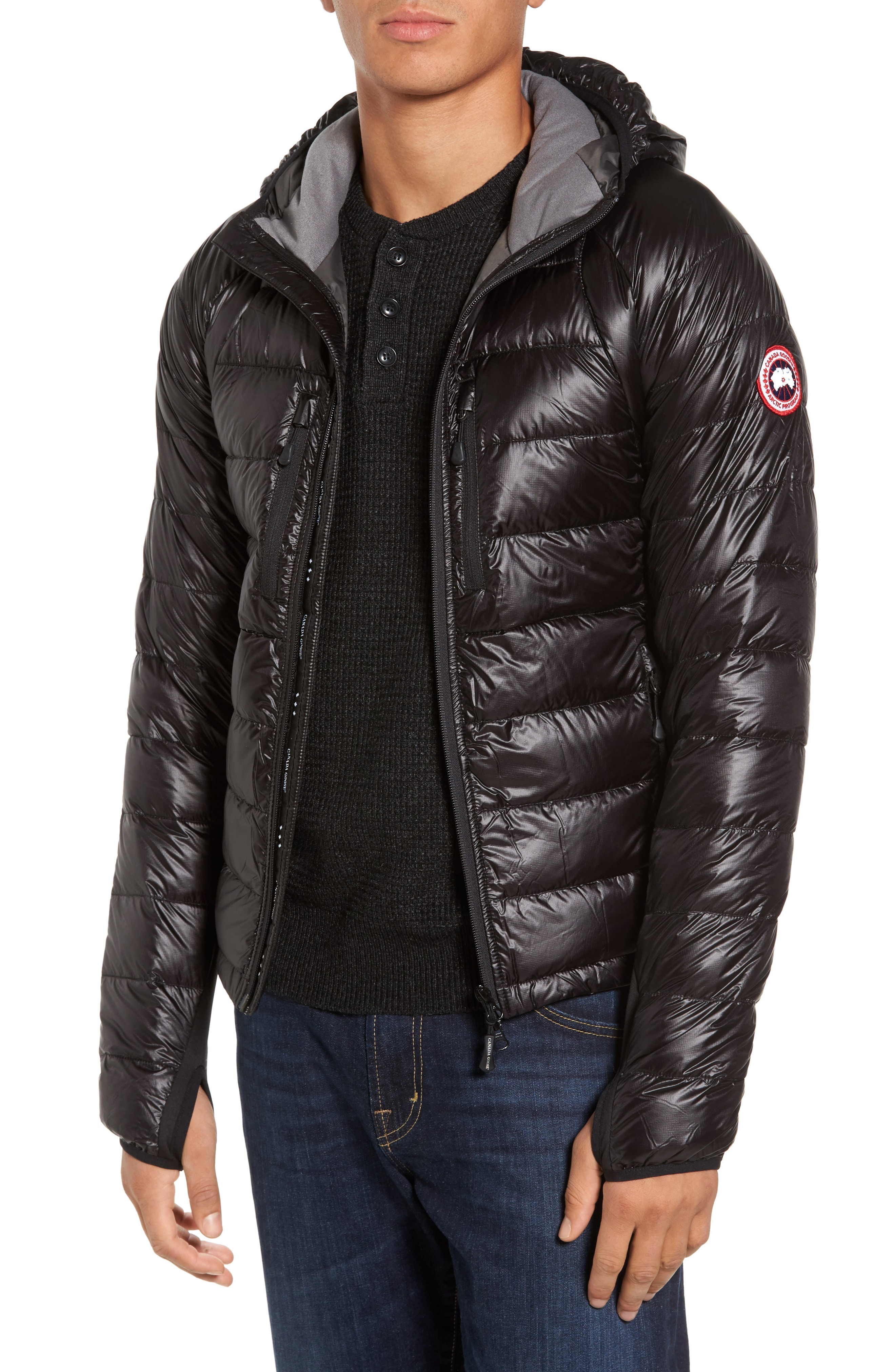 Canada Goose 'Hybridge Lite Hoody' Slim Fit Packable Jacket