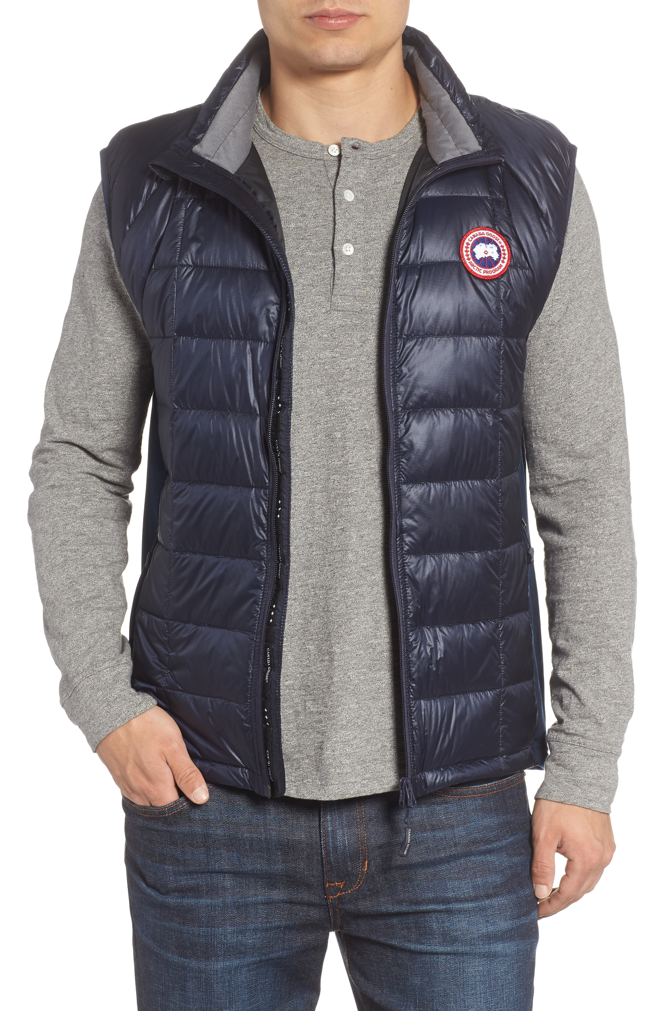 Canada Goose 'Hybridge Lite' Slim Fit Packable Quilted 800-Fill Down Vest