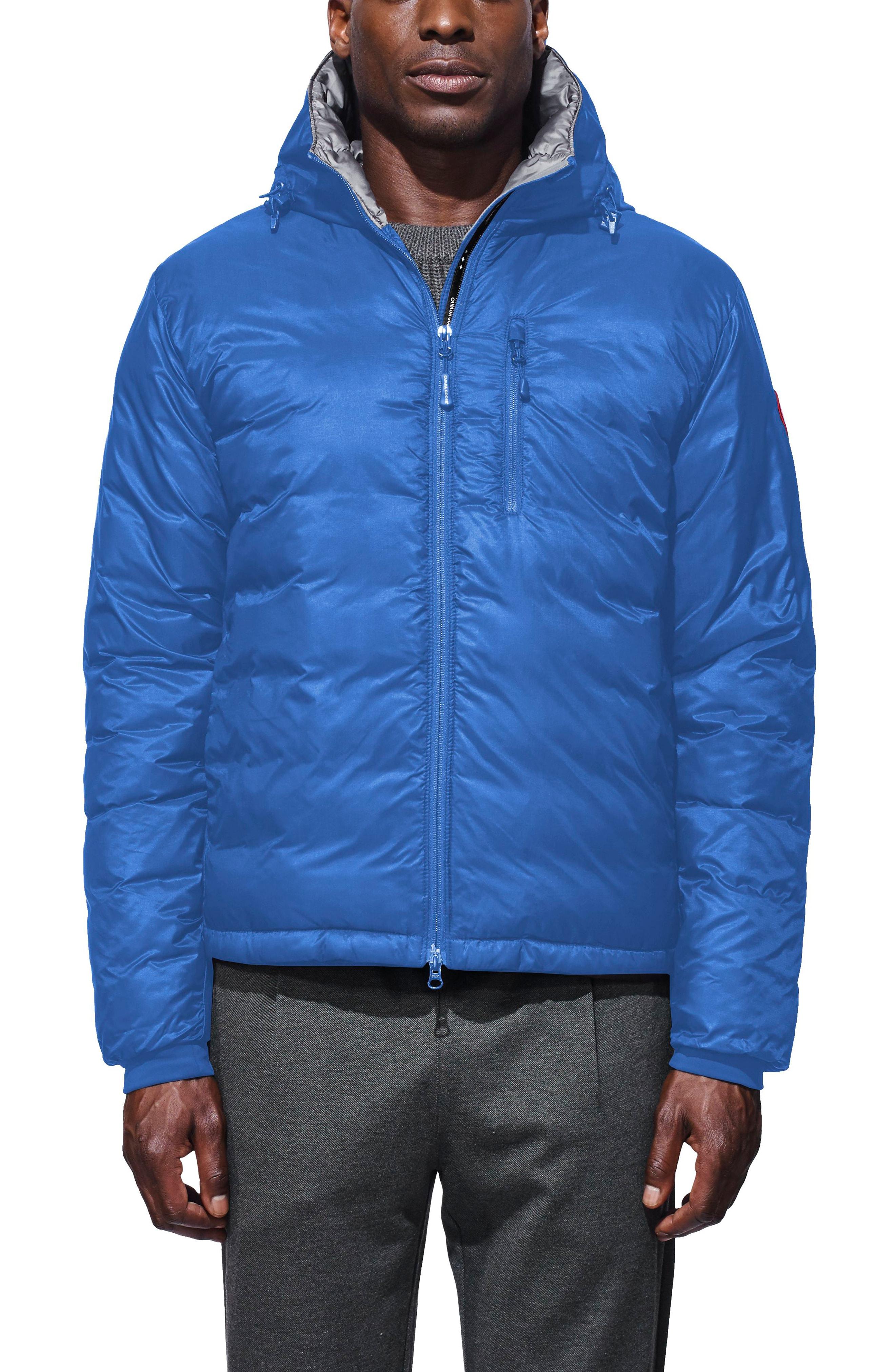 Canada Goose PBI Lodge Slim Fit Packable Down Hooded Jacket