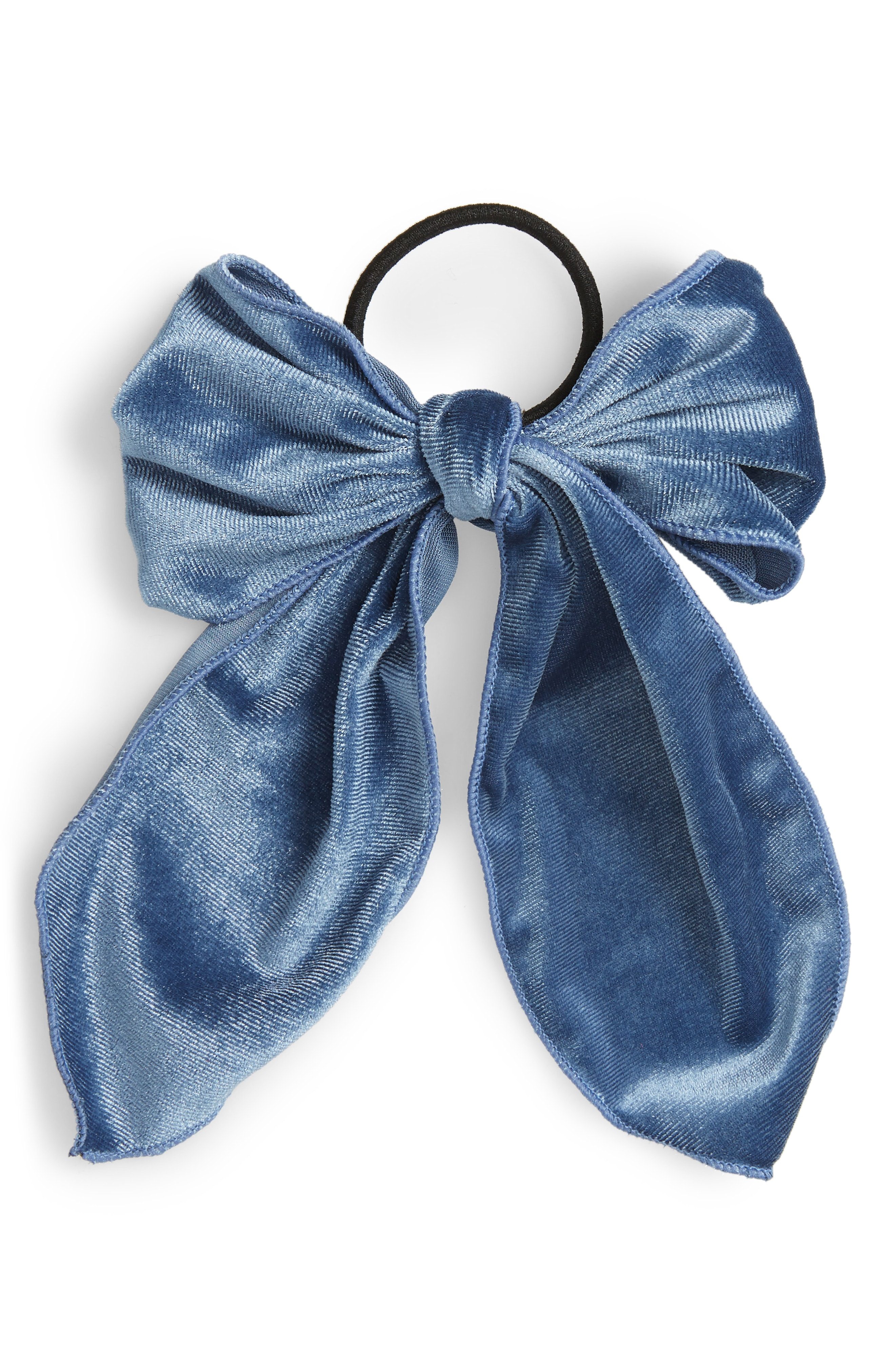 Cara Floppy Velvet Bow Hair Tie
