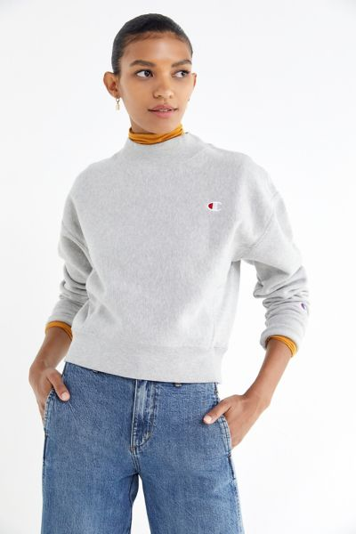 Champion Reverse Weave Mock-Neck Sweatshirt