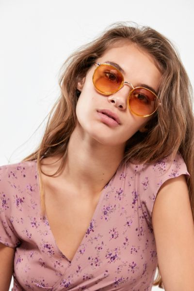Charlie Metal Round Sunglasses