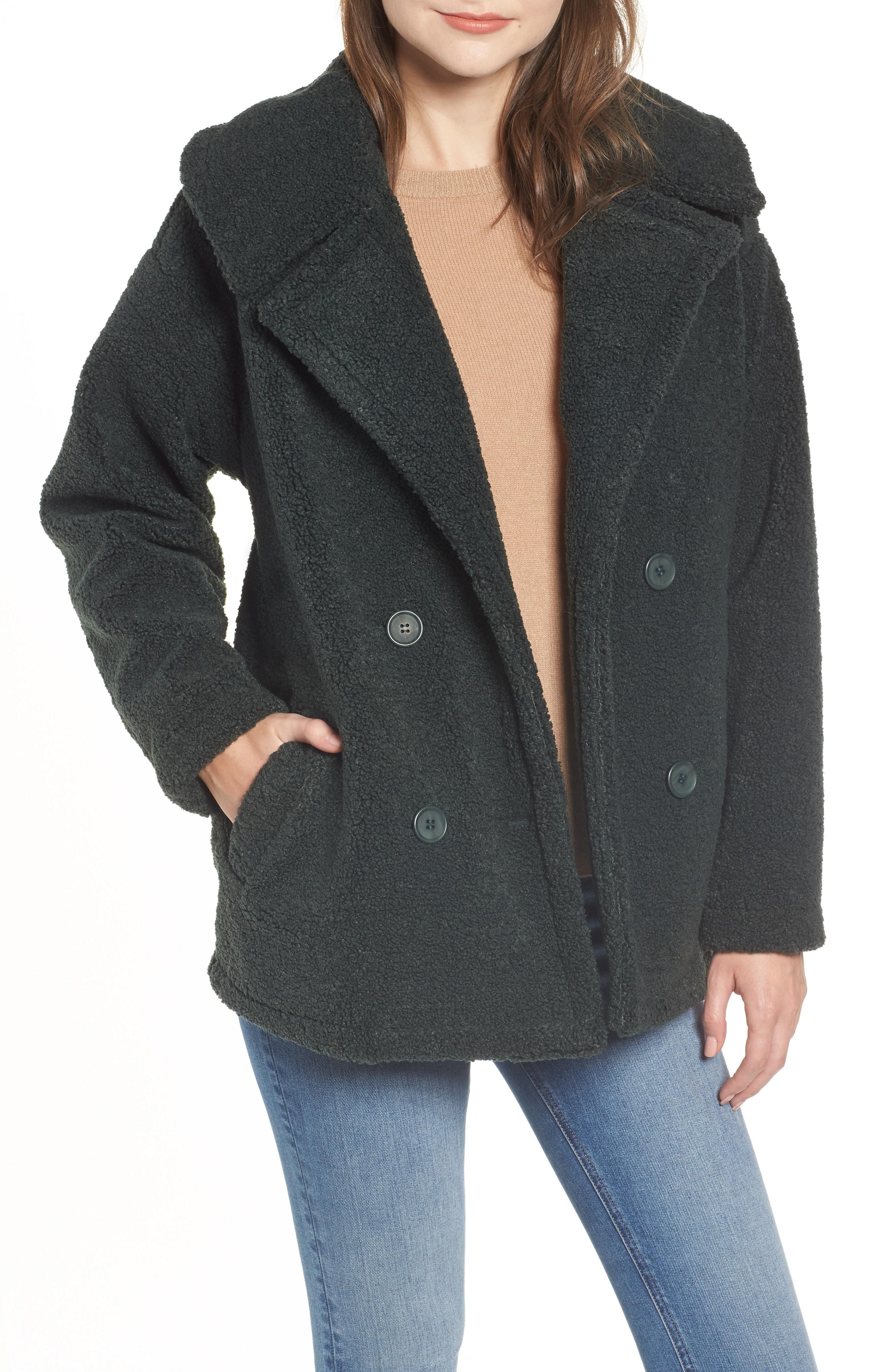 Chelsea28 Faux Fur Teddy Coat