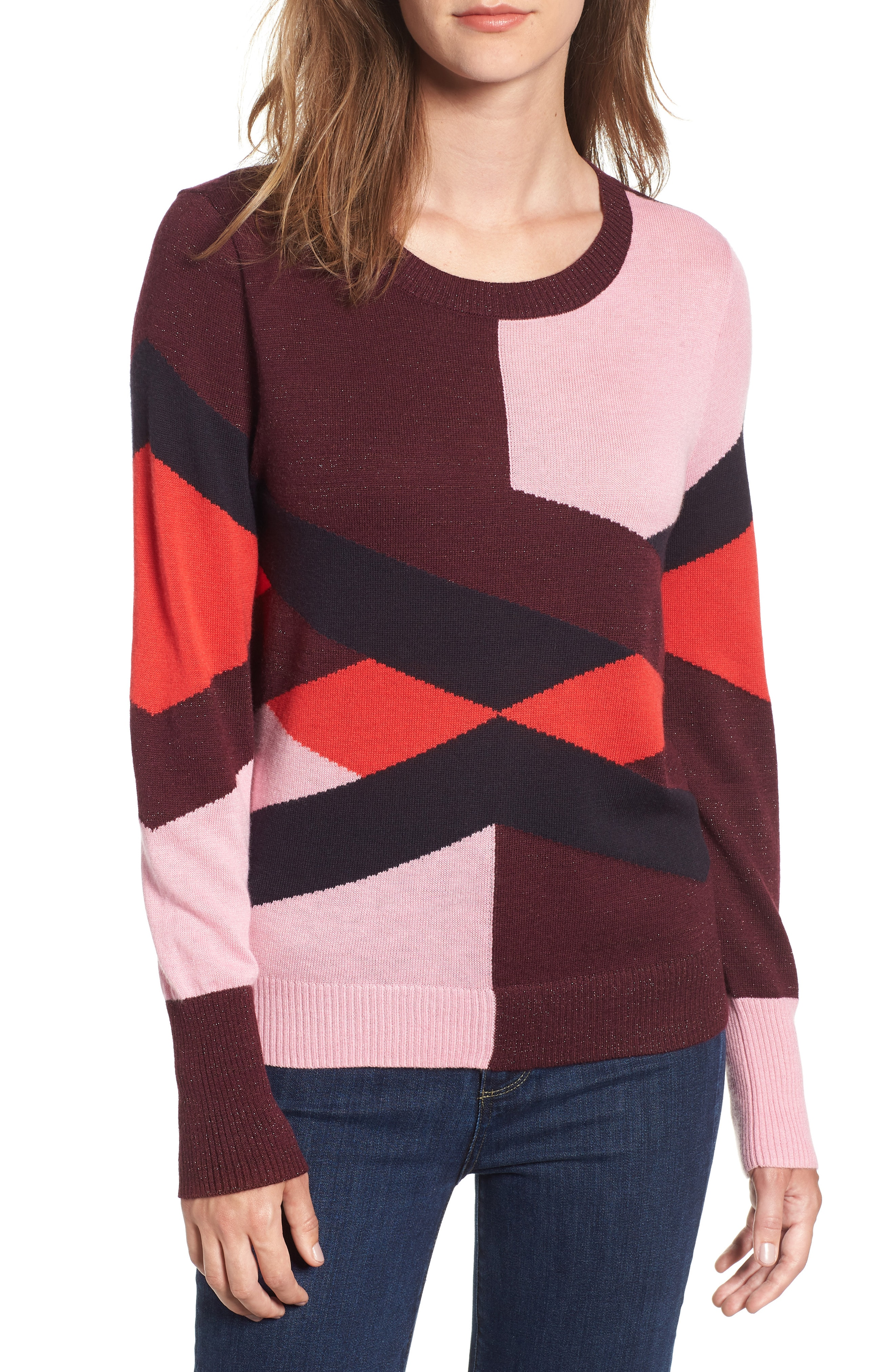 Chelsea28 Intarsia Sweater