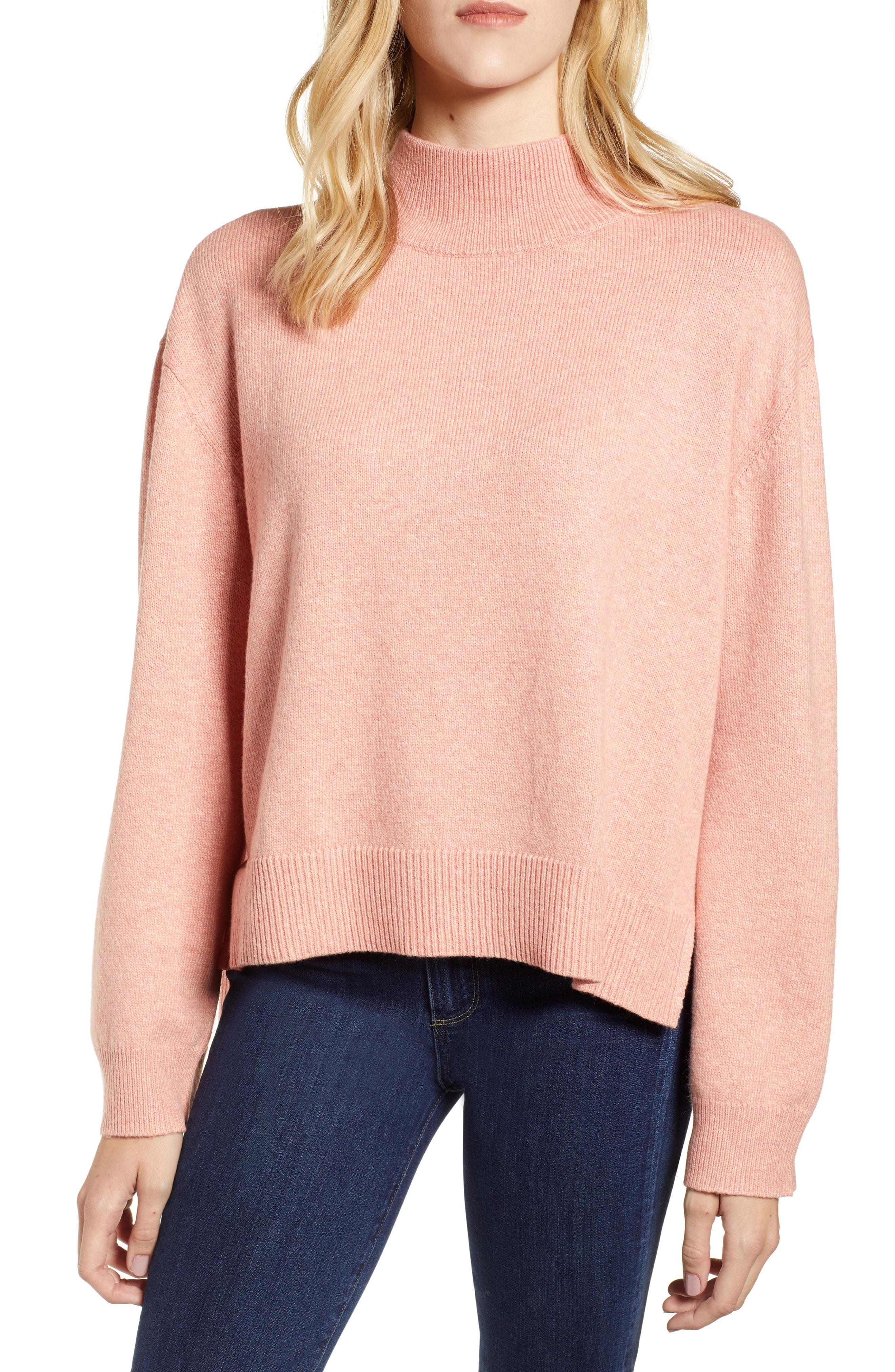 Chelsea28 Tie Back Cotton Blend Sweater