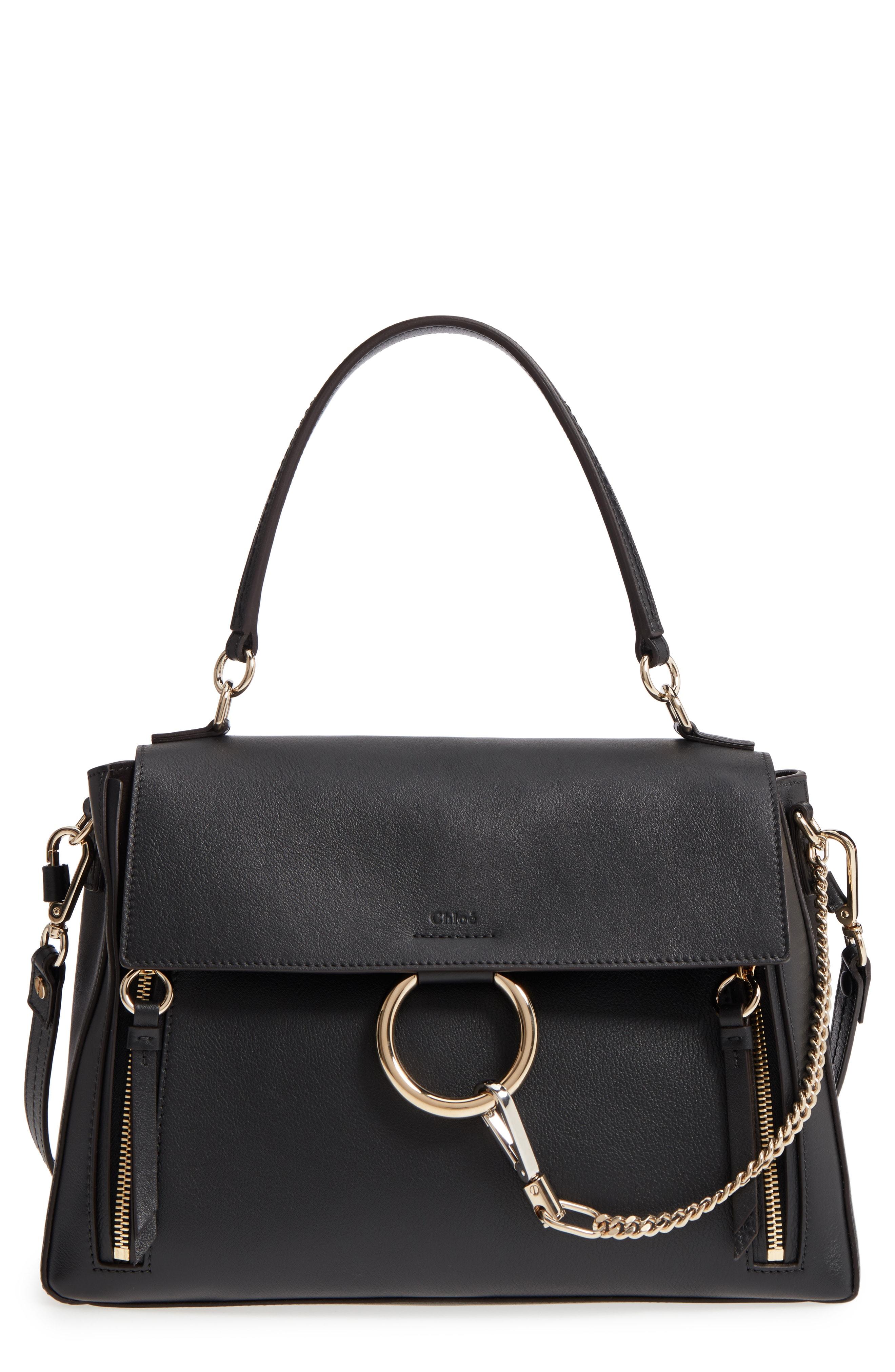 Chlo Medium Faye Leather Shoulder Bag
