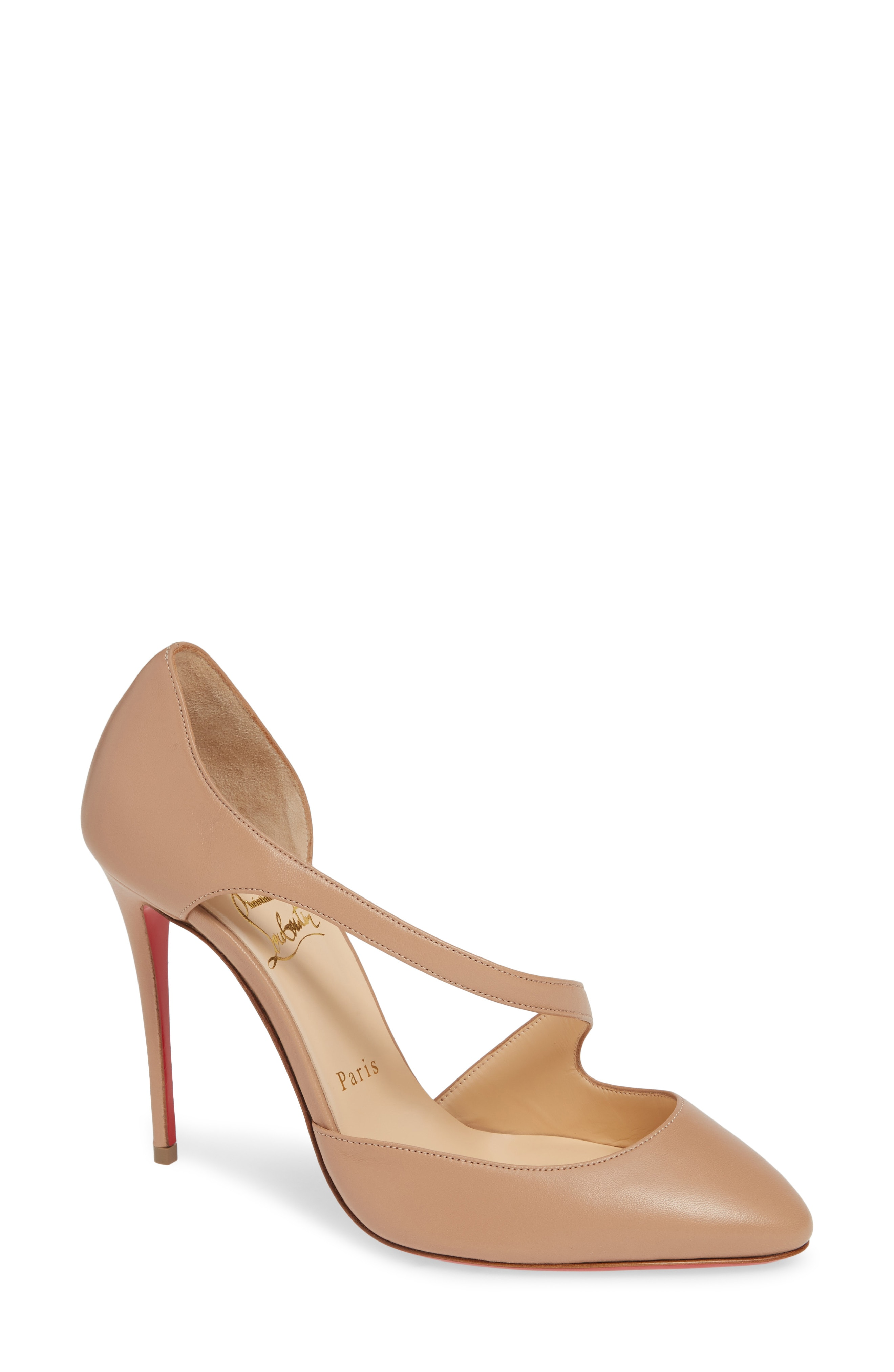 Christian Louboutin Catchy One Strappy d'Orsay Pump (Women)