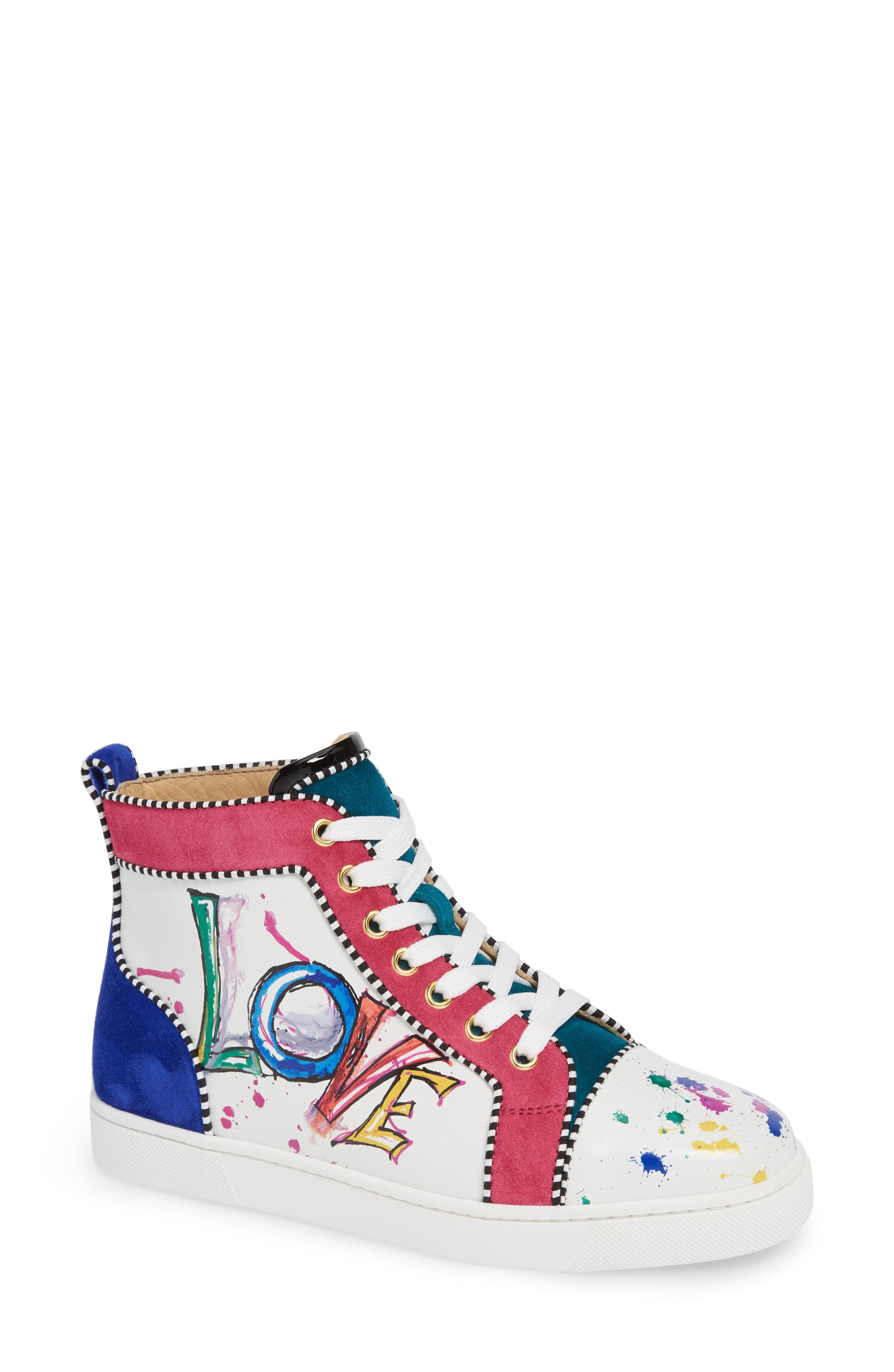 Christian Louboutin Love High Top Sneaker (Women)