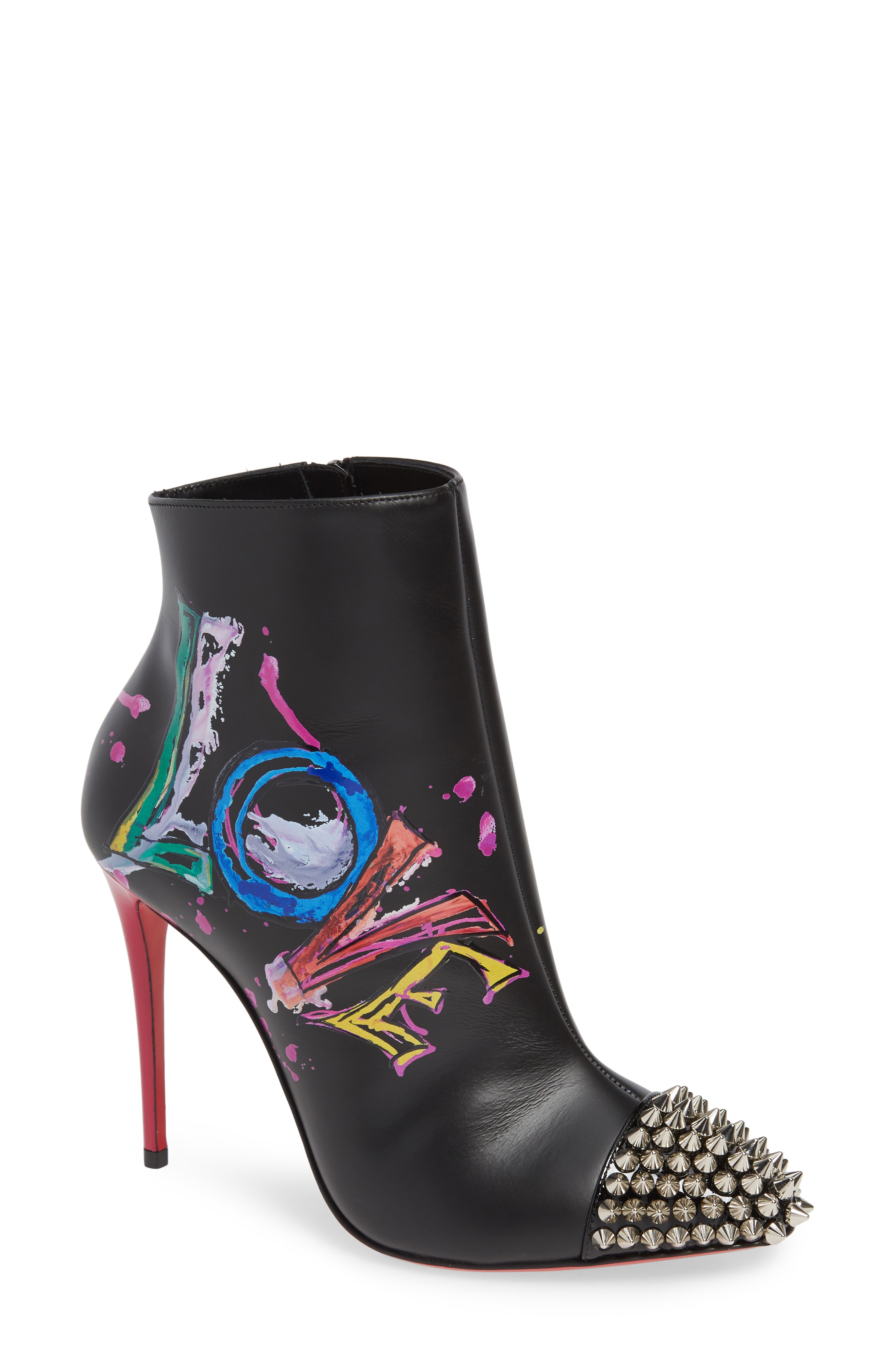 Christian Louboutin Love Is A Boot Spiked Bootie (Women)