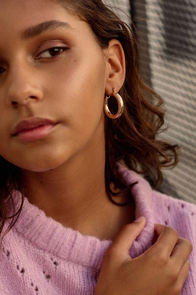 Chunky Hoop Earring