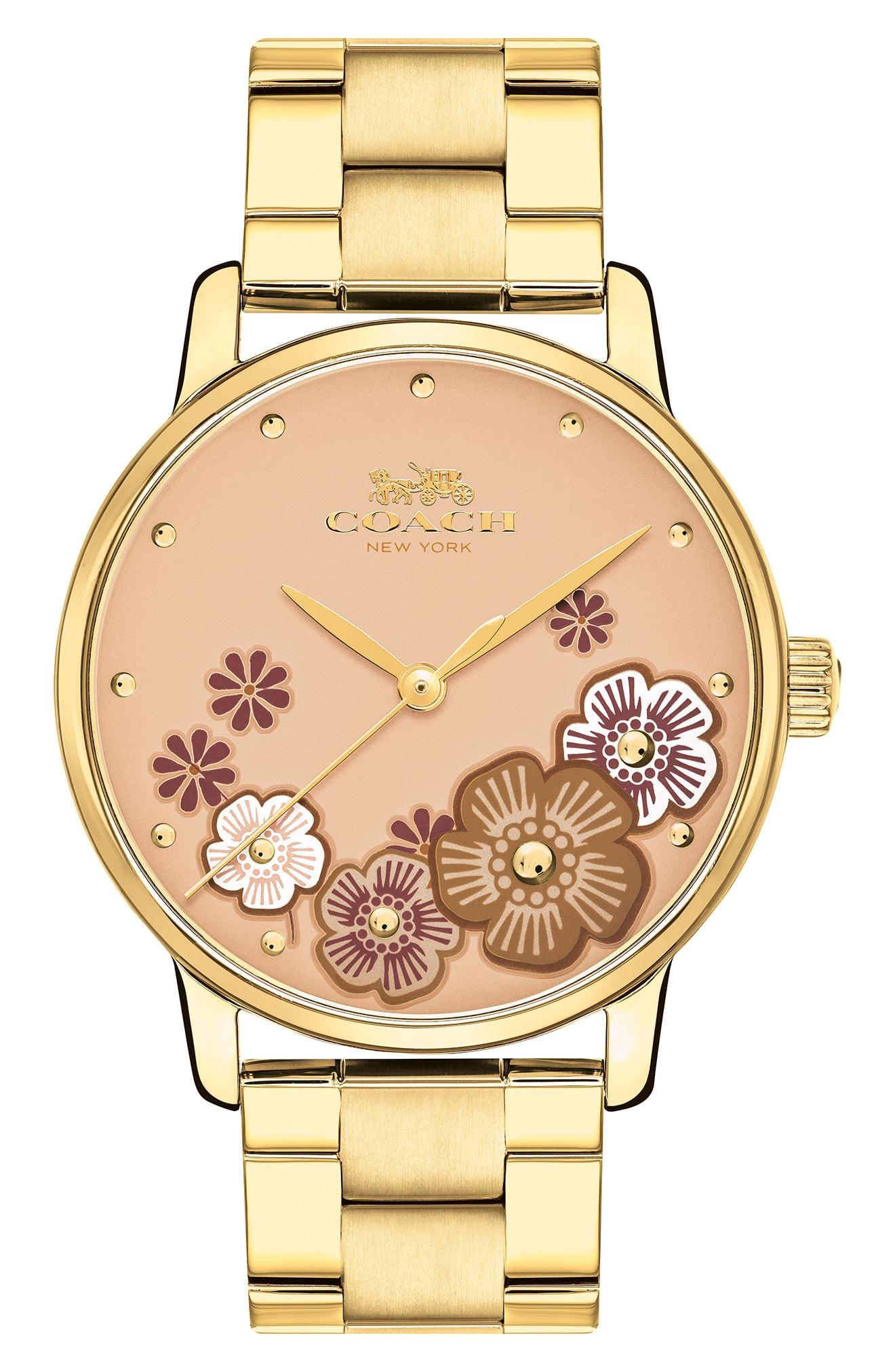 COACH Grand Bracelet Watch, 36mm