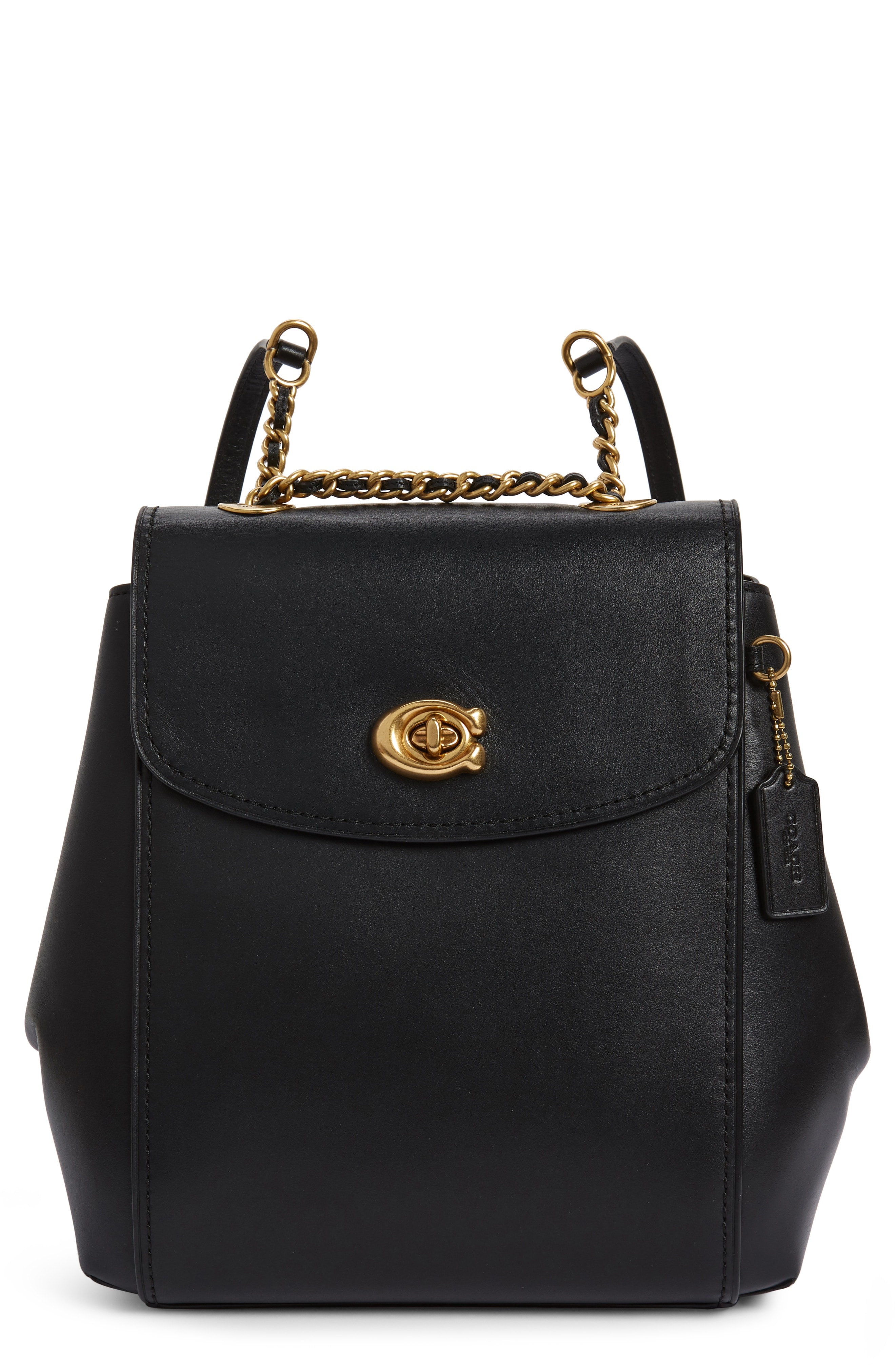 COACH Refined Parker Leather Backpack