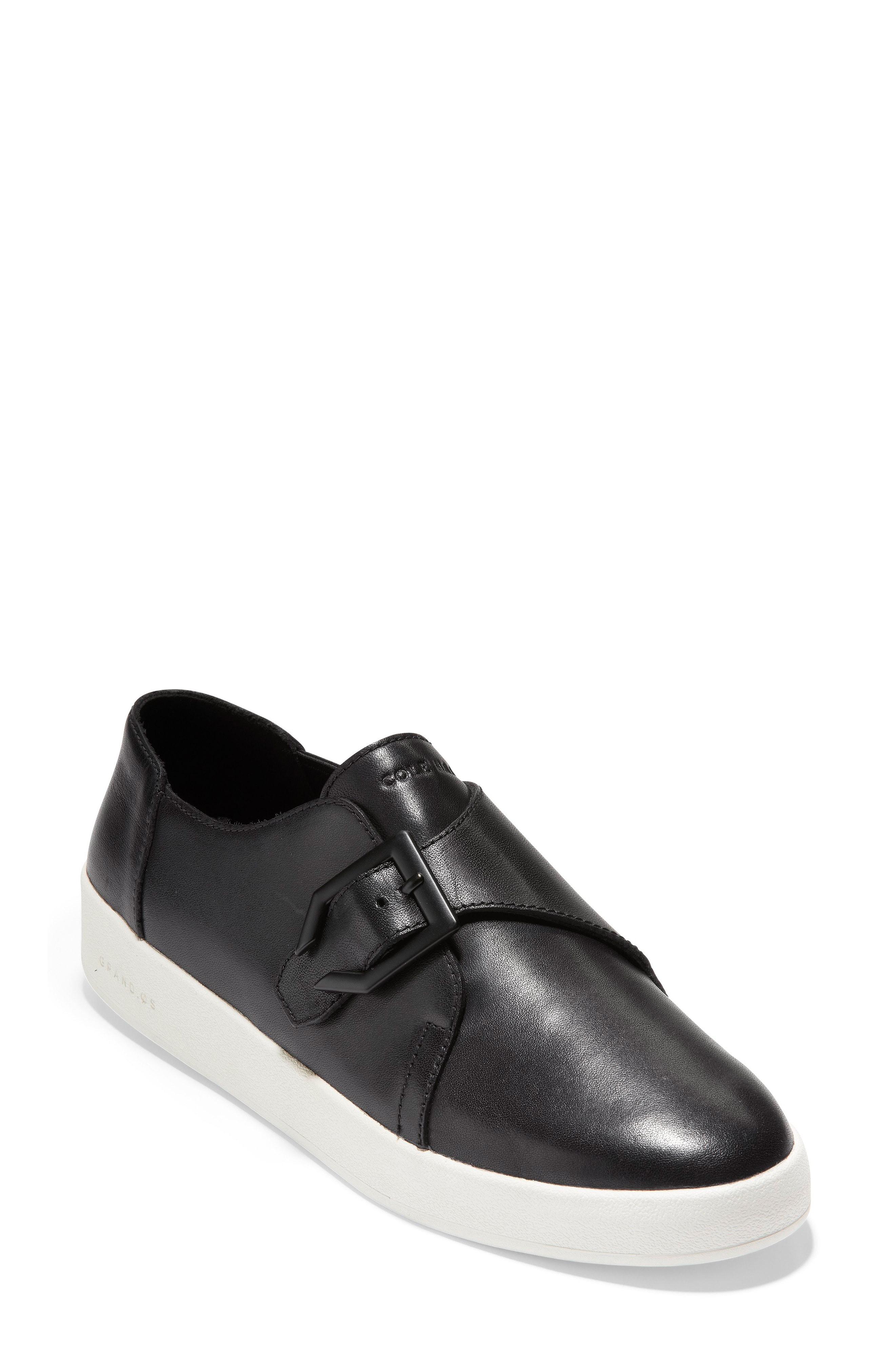 Cole Haan GrandPro Monk Strap Sneaker (Women)