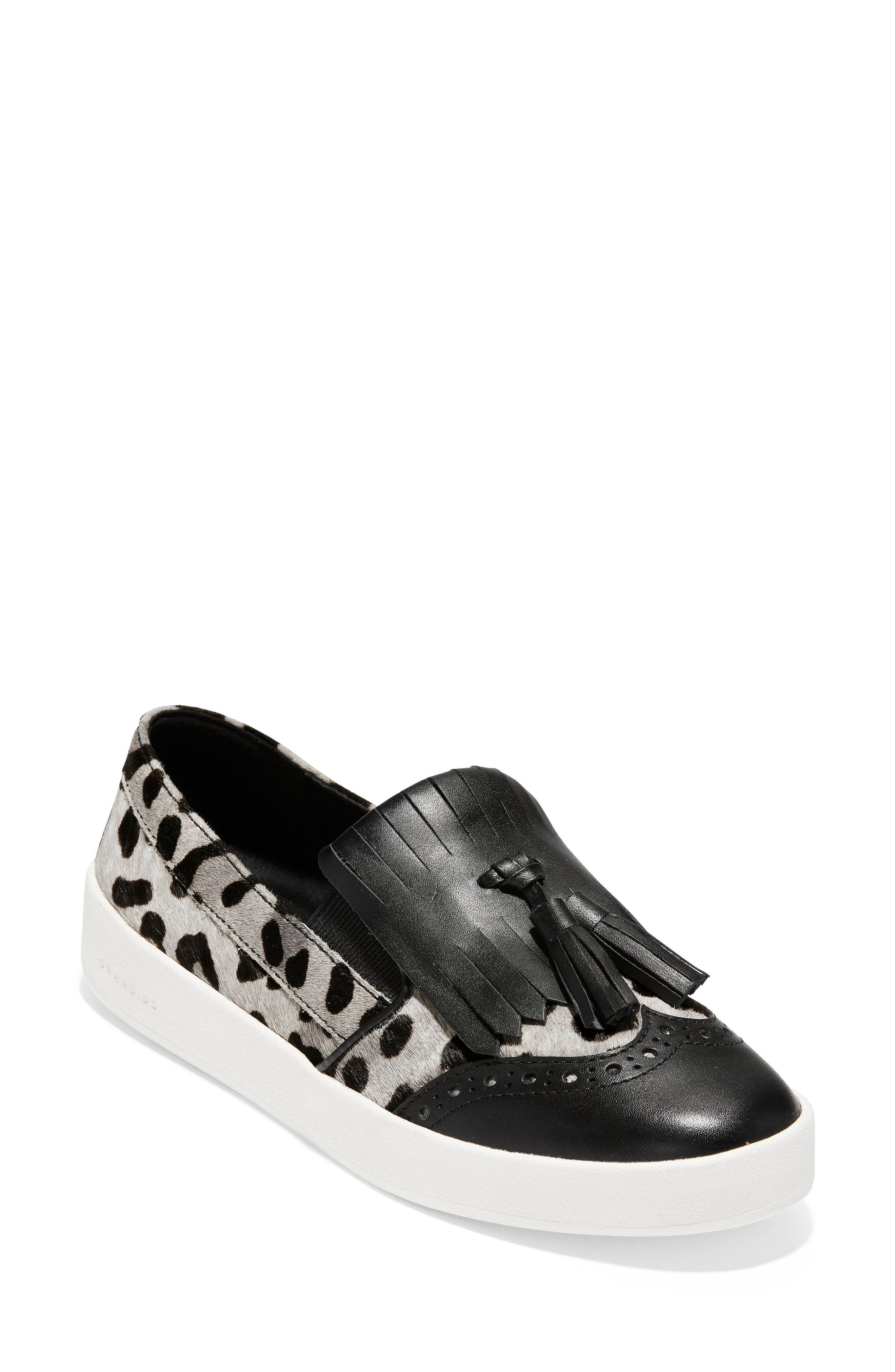 Cole Haan GrandPro Spectator Kiltie Sneaker (Women)