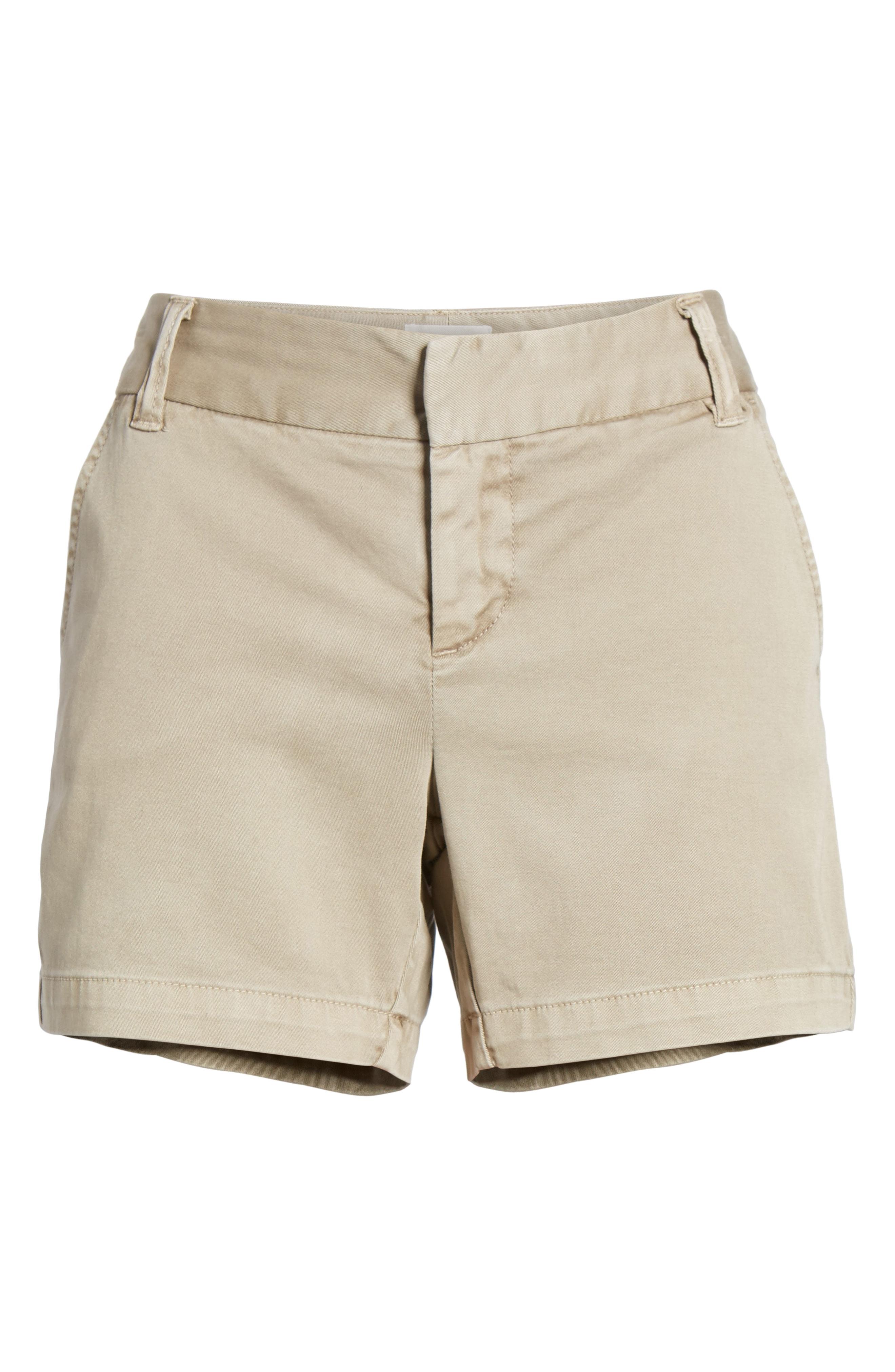 Caslon Cotton Twill Shorts (Regular & Petite)